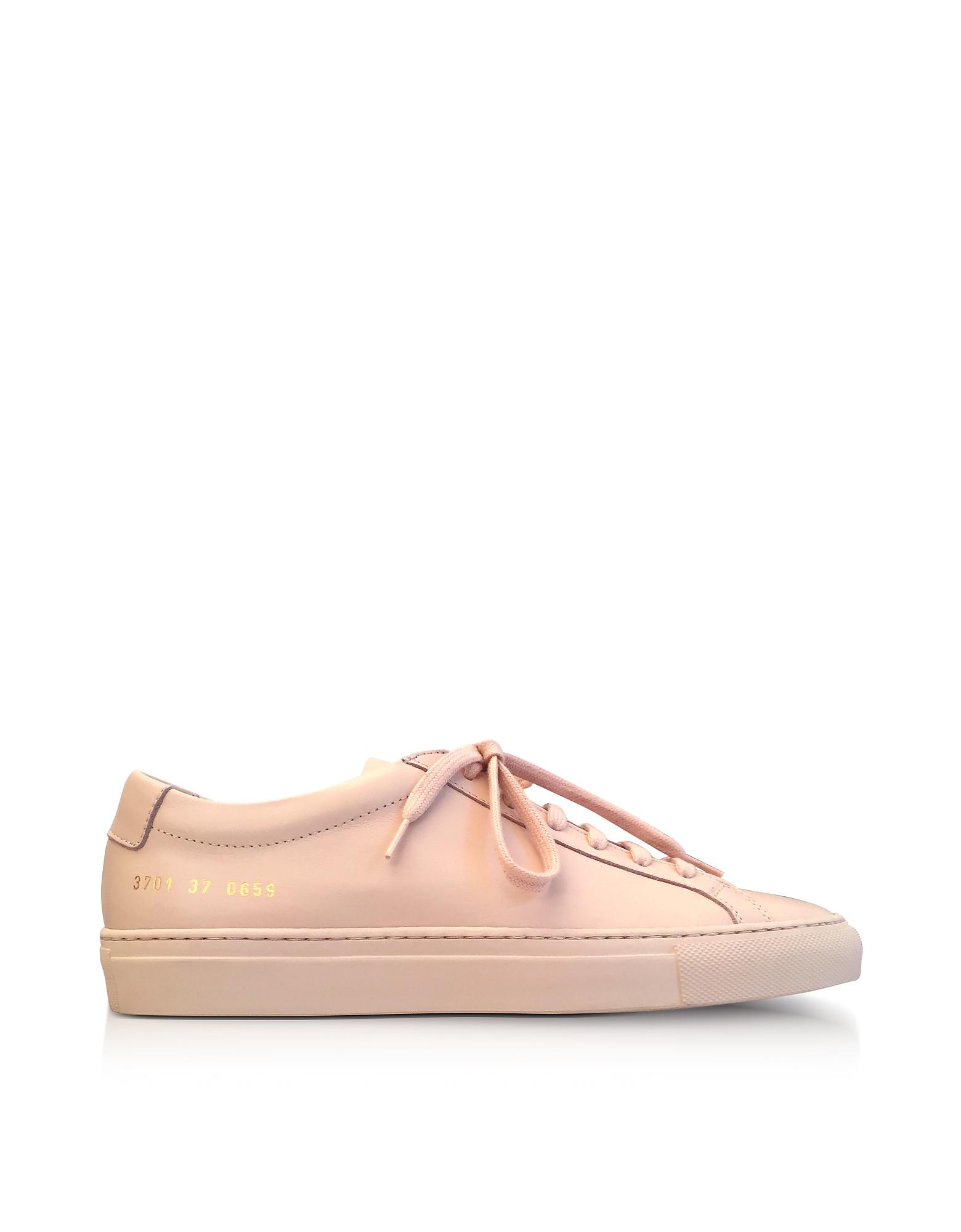COMMON PROJECTS Original Achilles low-top trainers Nude - B8847