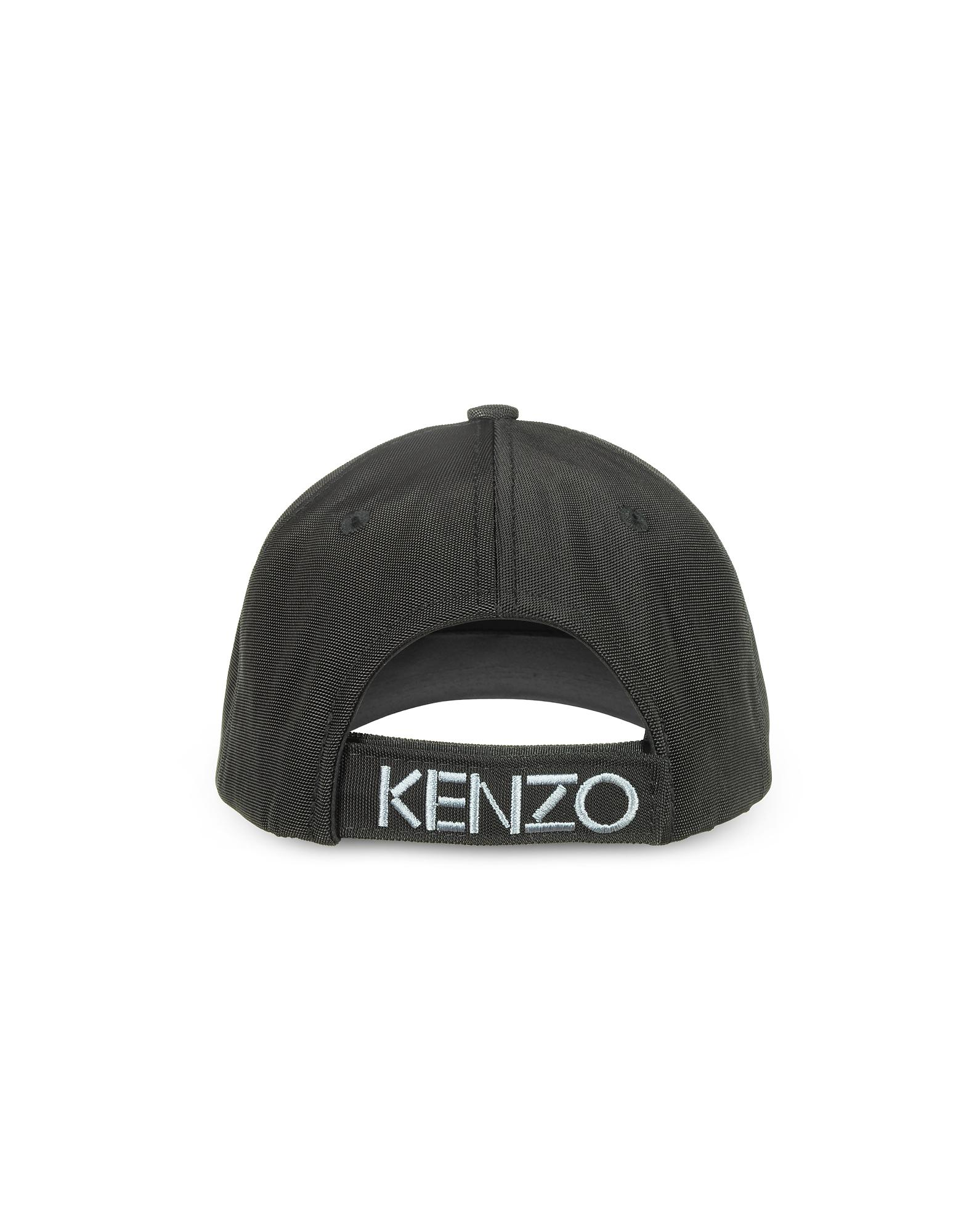 Kenzo Black Canvas Tiger Baseball Cap in Black for Men - Lyst 37e8bdb04ecb