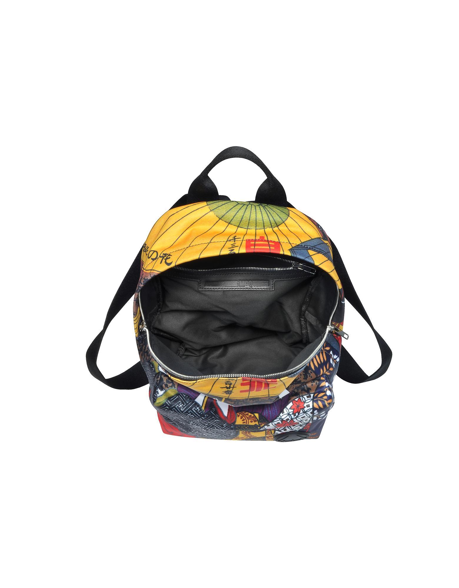 931ab48049a McQ Kimono Girl Nylon Backpack - Lyst