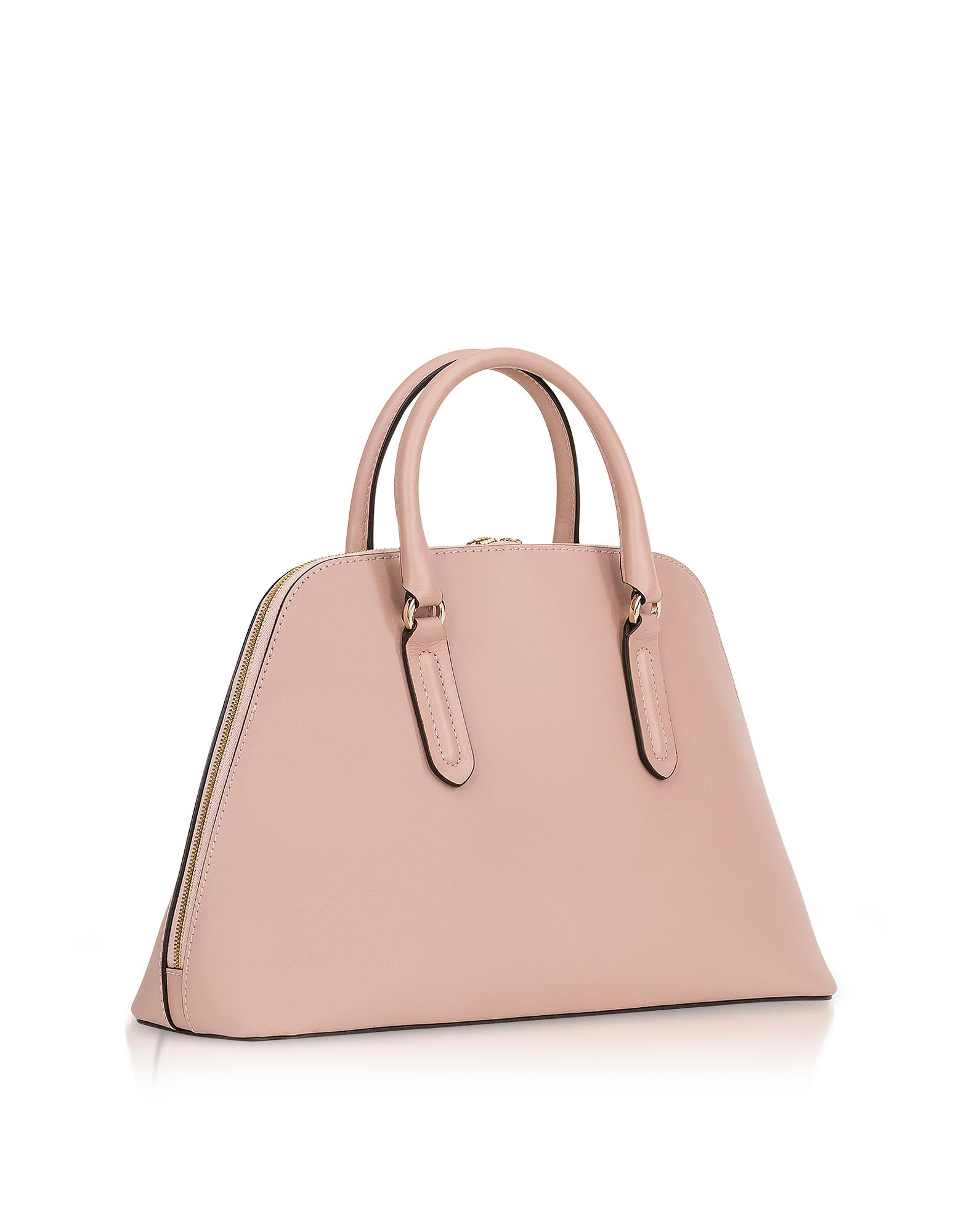 Milano Medium Tote Bag in Moonstone Calfskin Furla meU8uvkuz