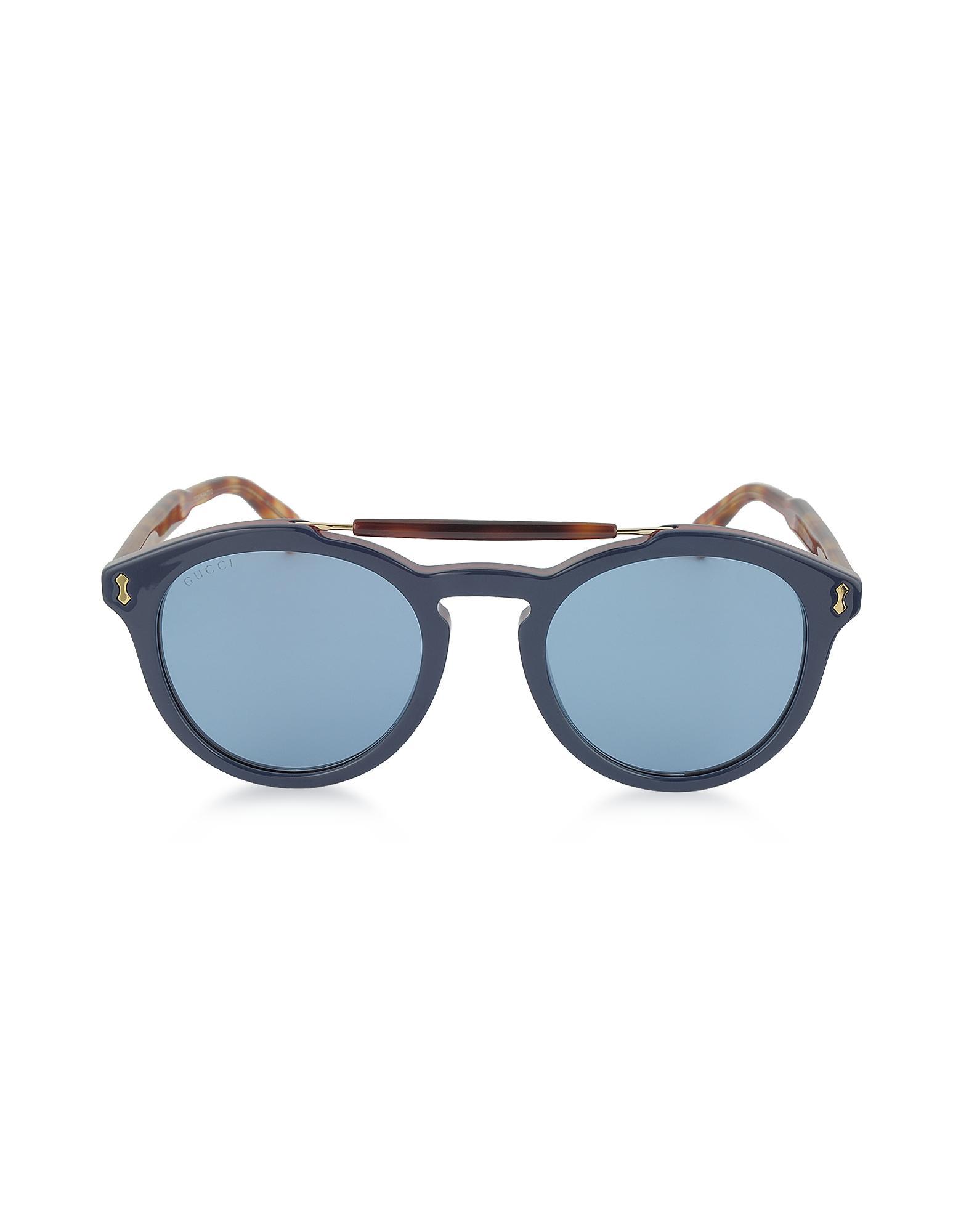 306967b815 Gucci - Blue GG0124S Gafas de Sol para Hombres de Acetato Havana for Men -  Lyst. Ver en pantalla completa