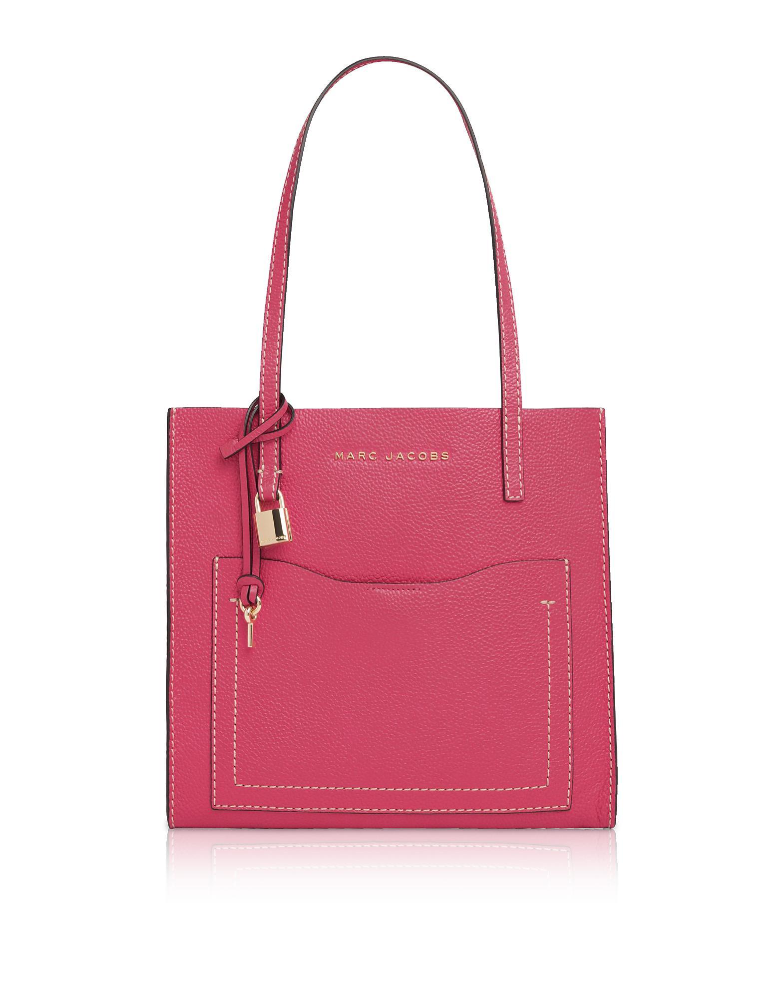 3376c2a6af15 Lyst - Marc Jacobs Peony Medium Grind T-pocket Tote Bag in Pink