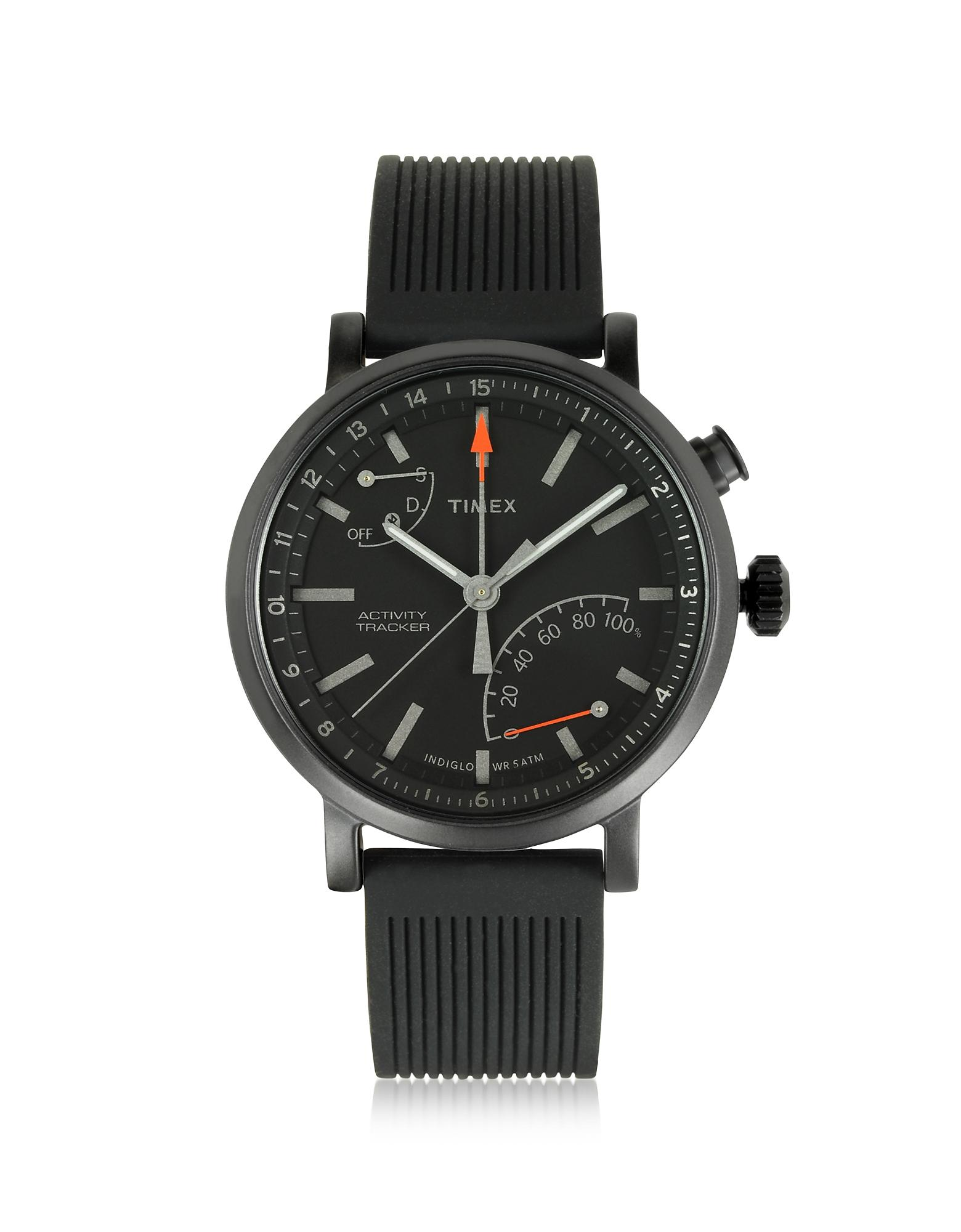 acc94850350a Metropolitan Reloj para Hombre Negro con Correa Intercambiable Timex ...