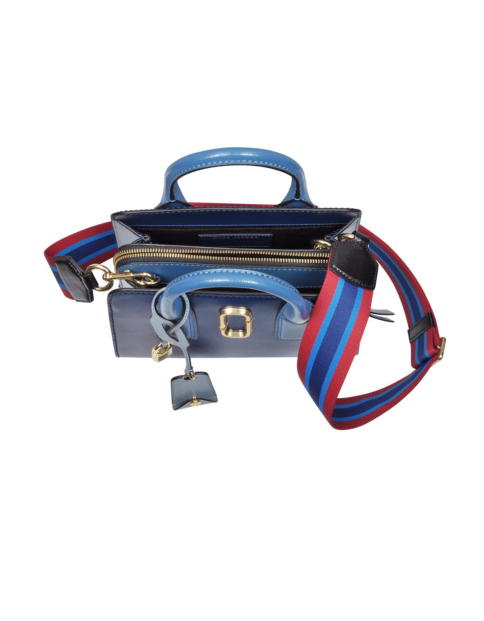 ad63a24b10 Marc Jacobs Blue Sea Multi Little Big Shot Tote Bag in Blue - Lyst