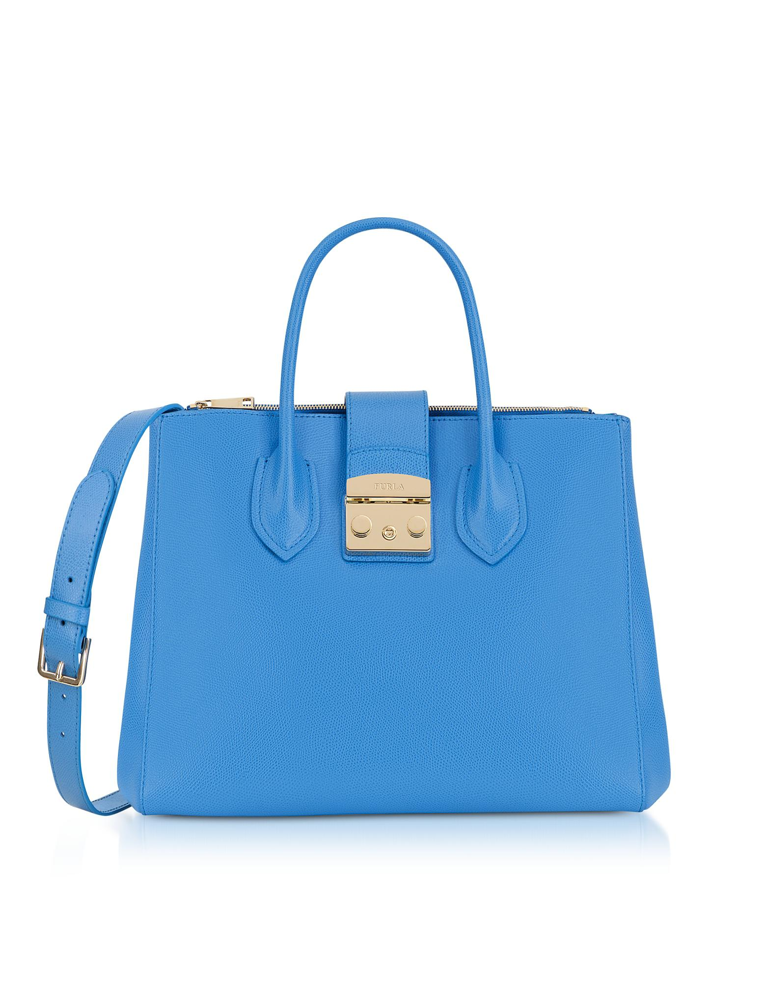 Metropolis medium tote - Blue Furla