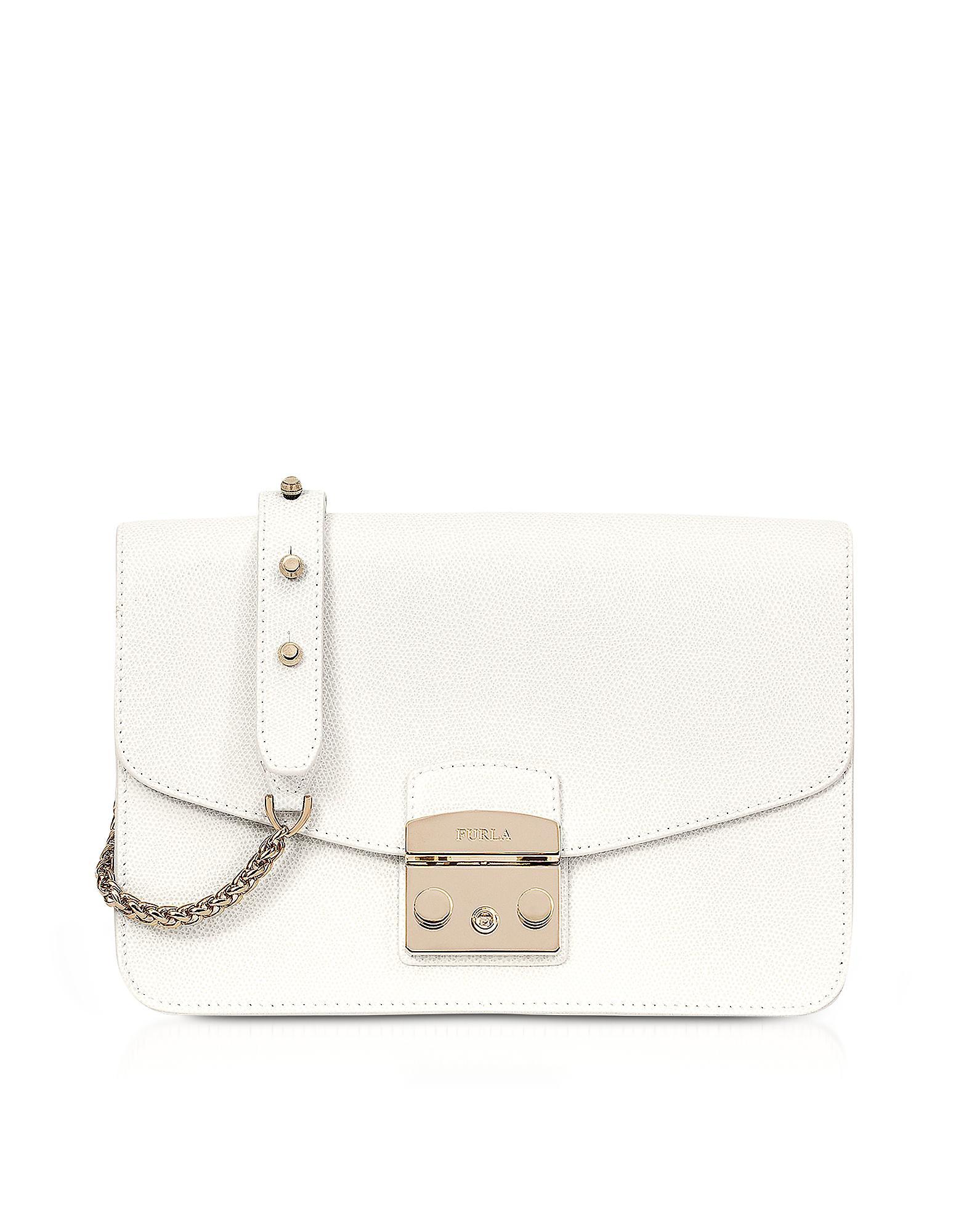 White Metropolis bag Furla R5Qa4pUE