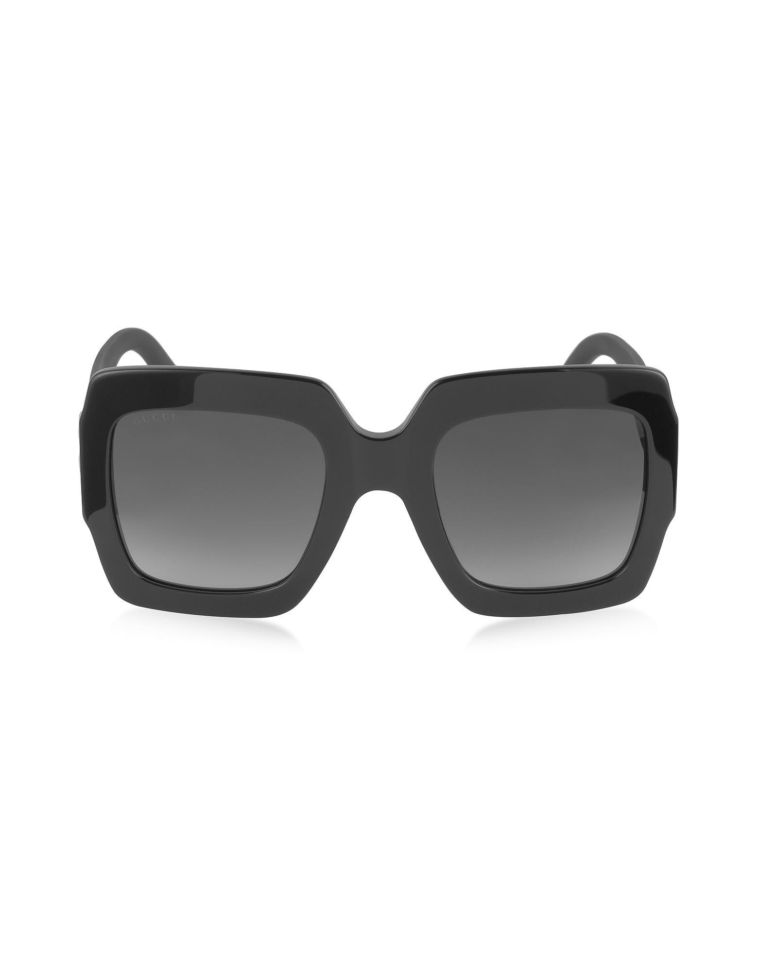 77aed92594 Gucci GG0053S Optyl Square Women s Sunglasses W glitter Temples in ...