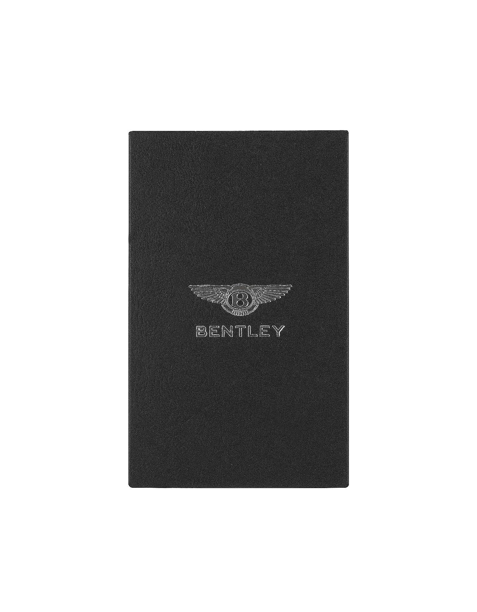 bentley ettinger leather iphone case in black for men