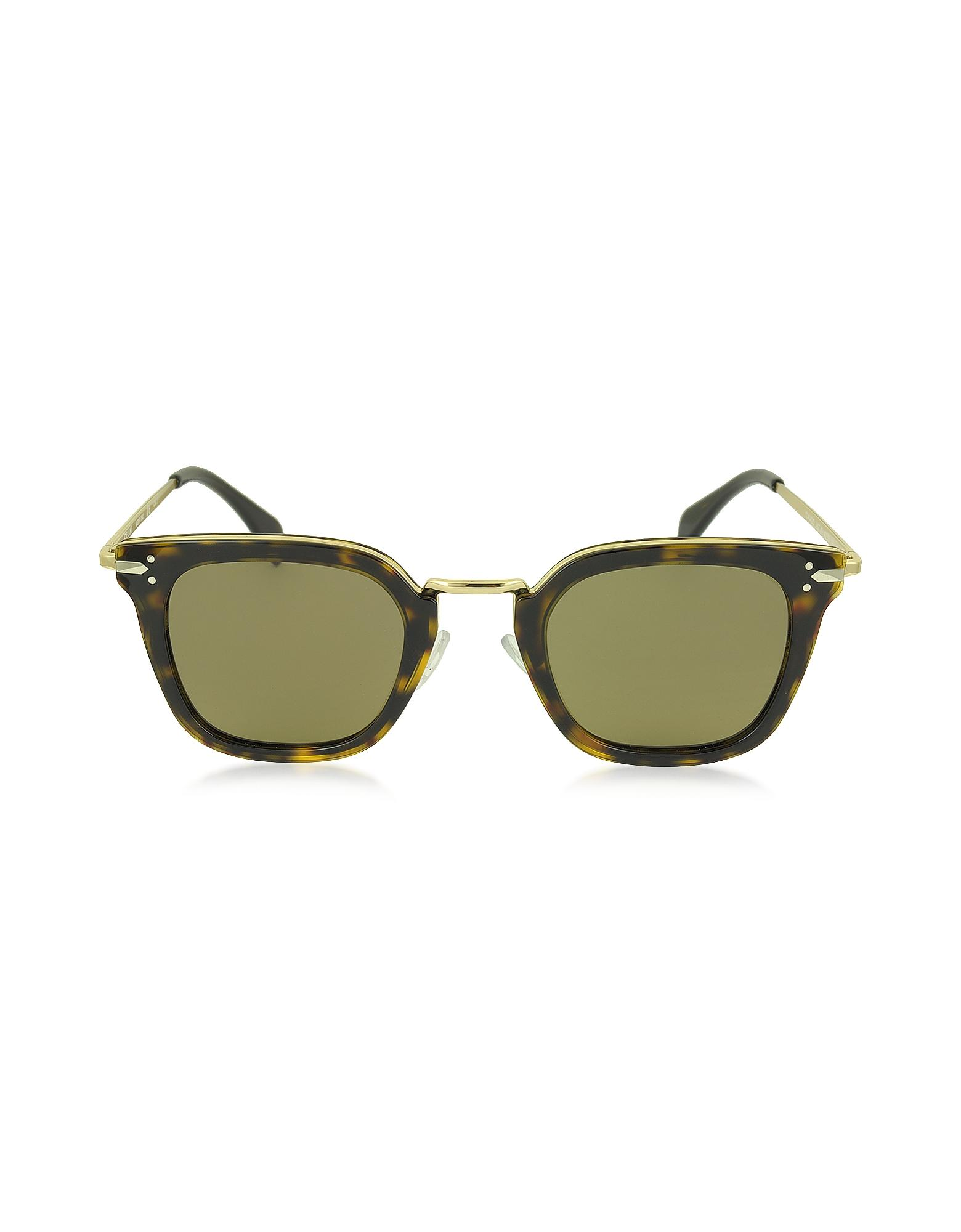 Celine Gold Frame Sunglasses : Celine Vic Cl 41402/s Acetate And Gold Metal Cat Eye Women ...