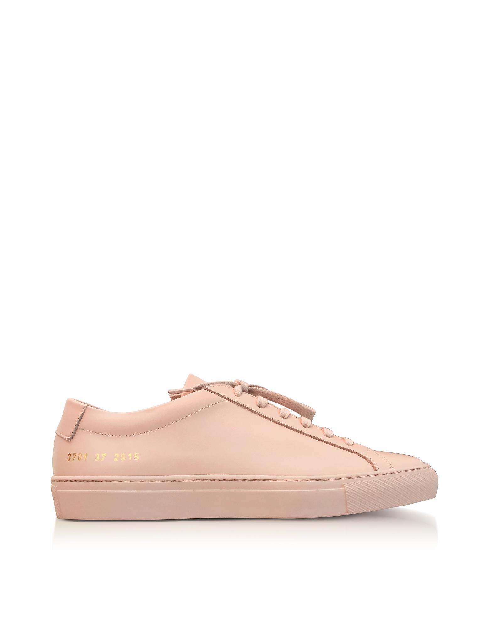 223fcedbe6f7 Common Projects. Pink Blush Leather Achilles Original Low Top Women s  Trainers