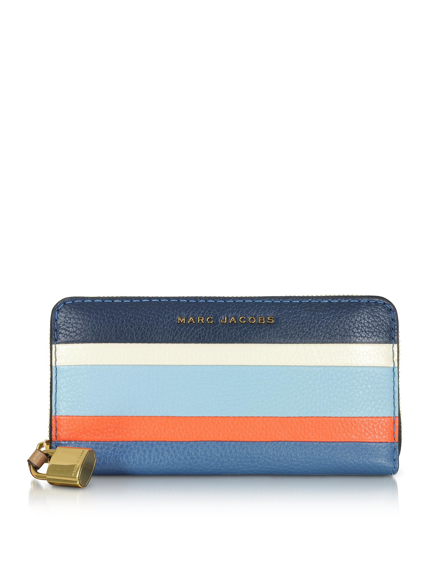 Sale 100% Original Marc Jacobs The Grind Colorblocked Leather Continental Wallet Exclusive Cheap Price KAhqLRzlj