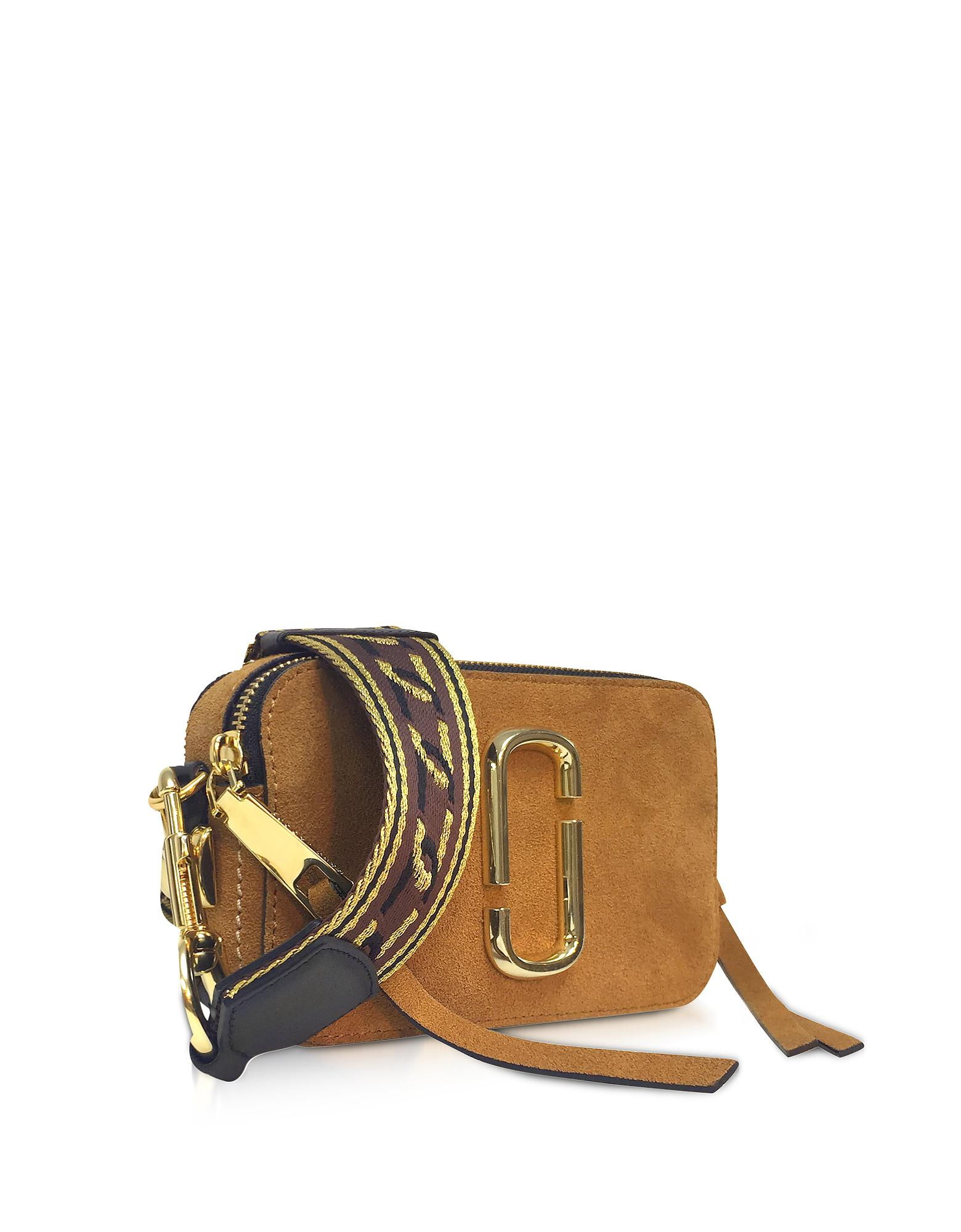 18581085fc54 Lyst - Marc Jacobs Mustard Yellow Chain Snapshot Small Camera Bag in ...