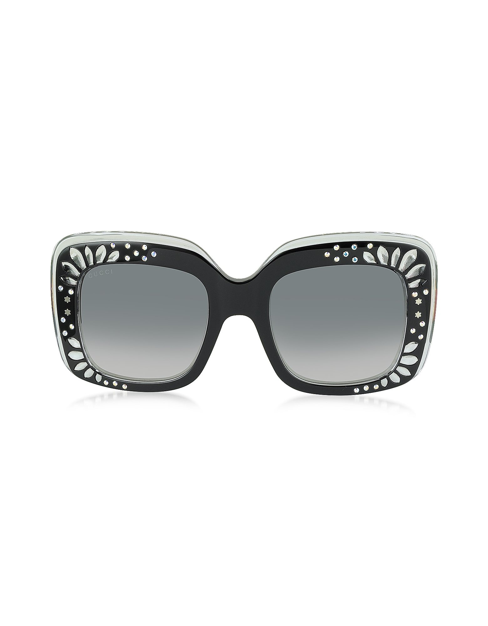 045a3ec1e5d Oversized Square Frame Bling Rhinestone Sunglasses Wholesale
