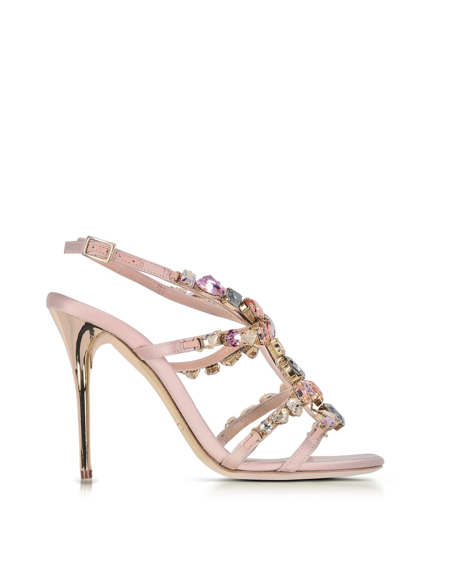Oscar de la Renta Imogene Crystal Stiletto Sandal HKGikEa8