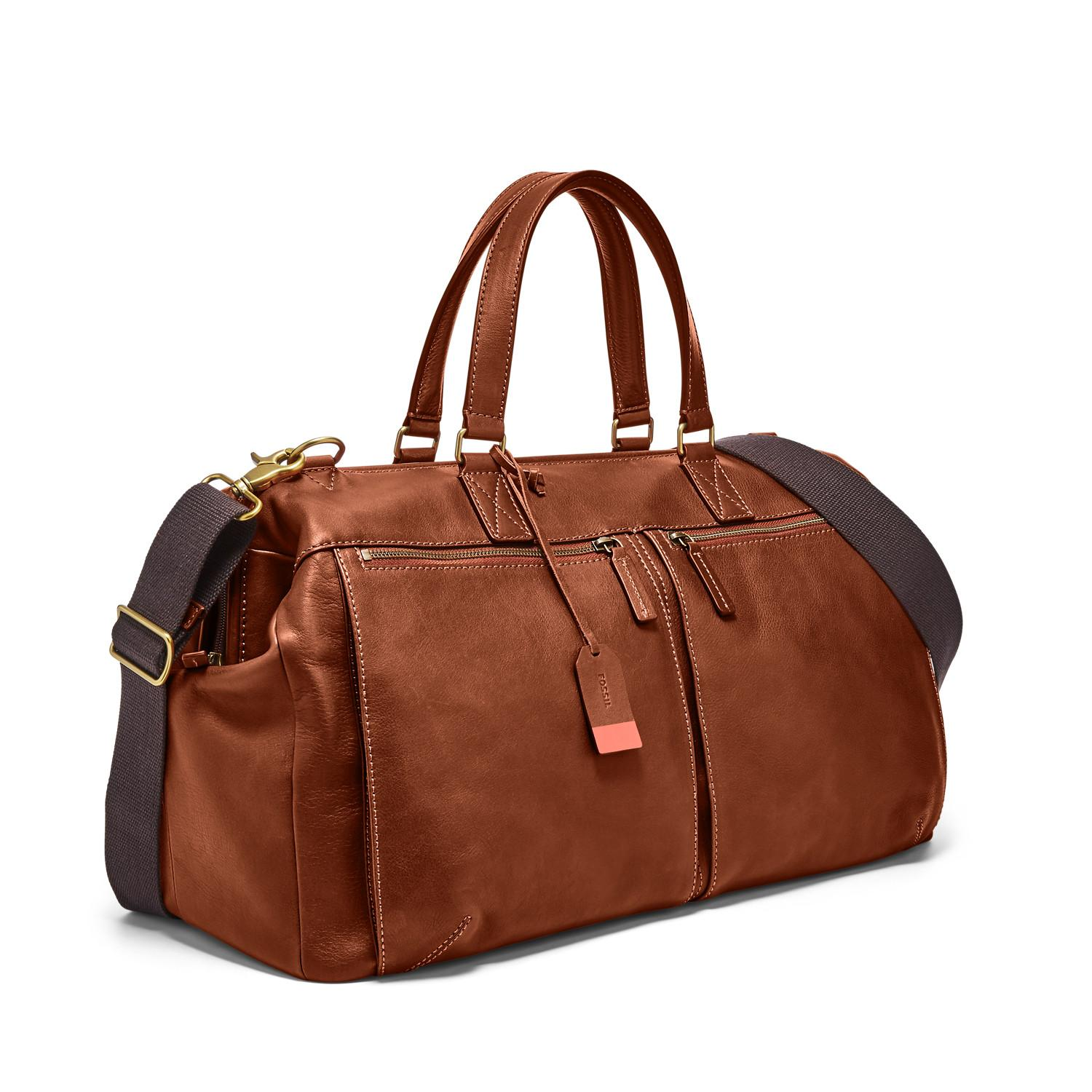 Image result for leather duffle bag mens