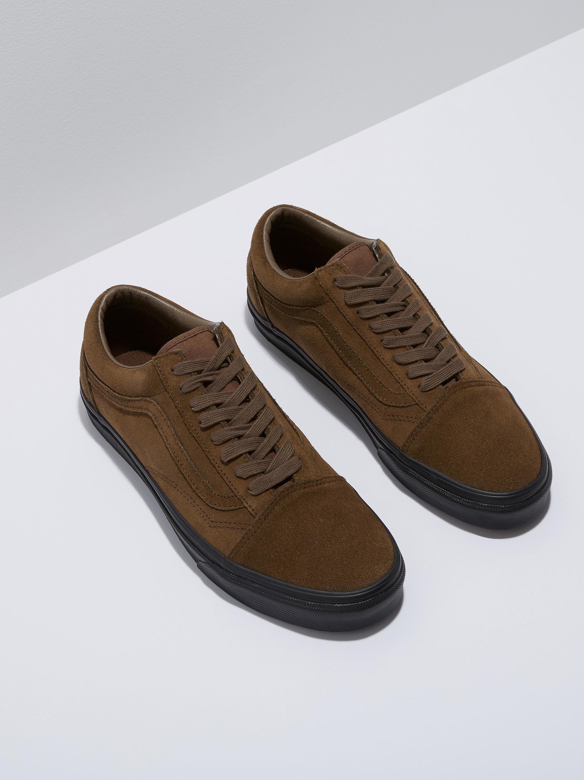 d5a39d6c00e Lyst - Frank And Oak Vans Suede Old Skool In Teak in Brown for Men