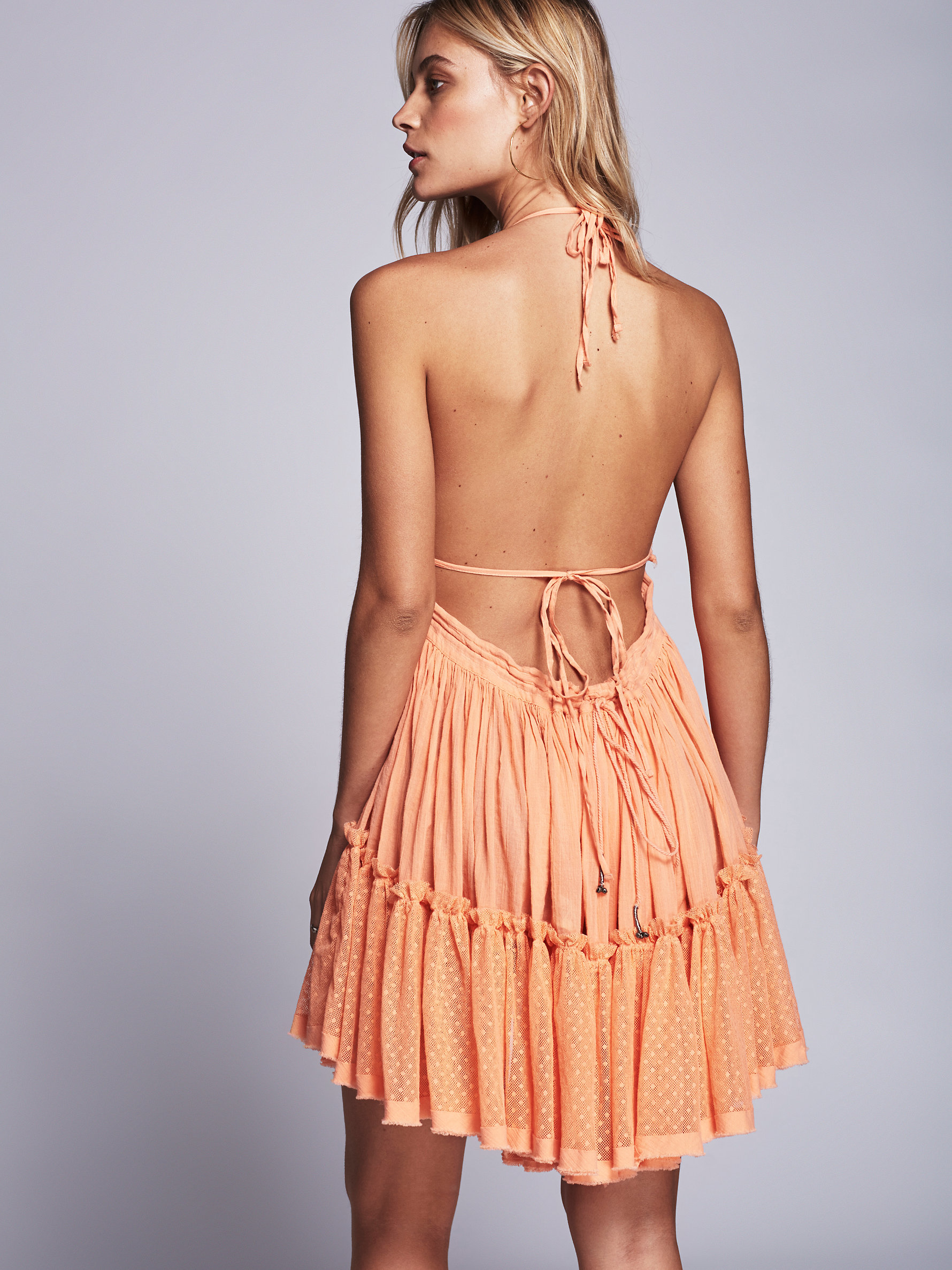 5541c01657 Free People 100 Degree Dress in Natural - Lyst