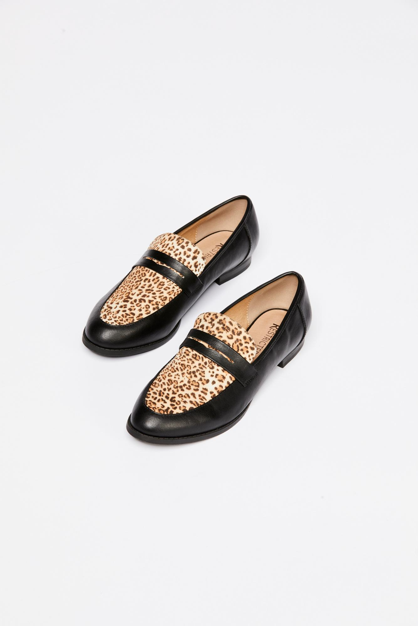 8a7d5e91213 Lyst free people lou penny loafer restricted in brown jpg 1334x2000  Stacking lou penny