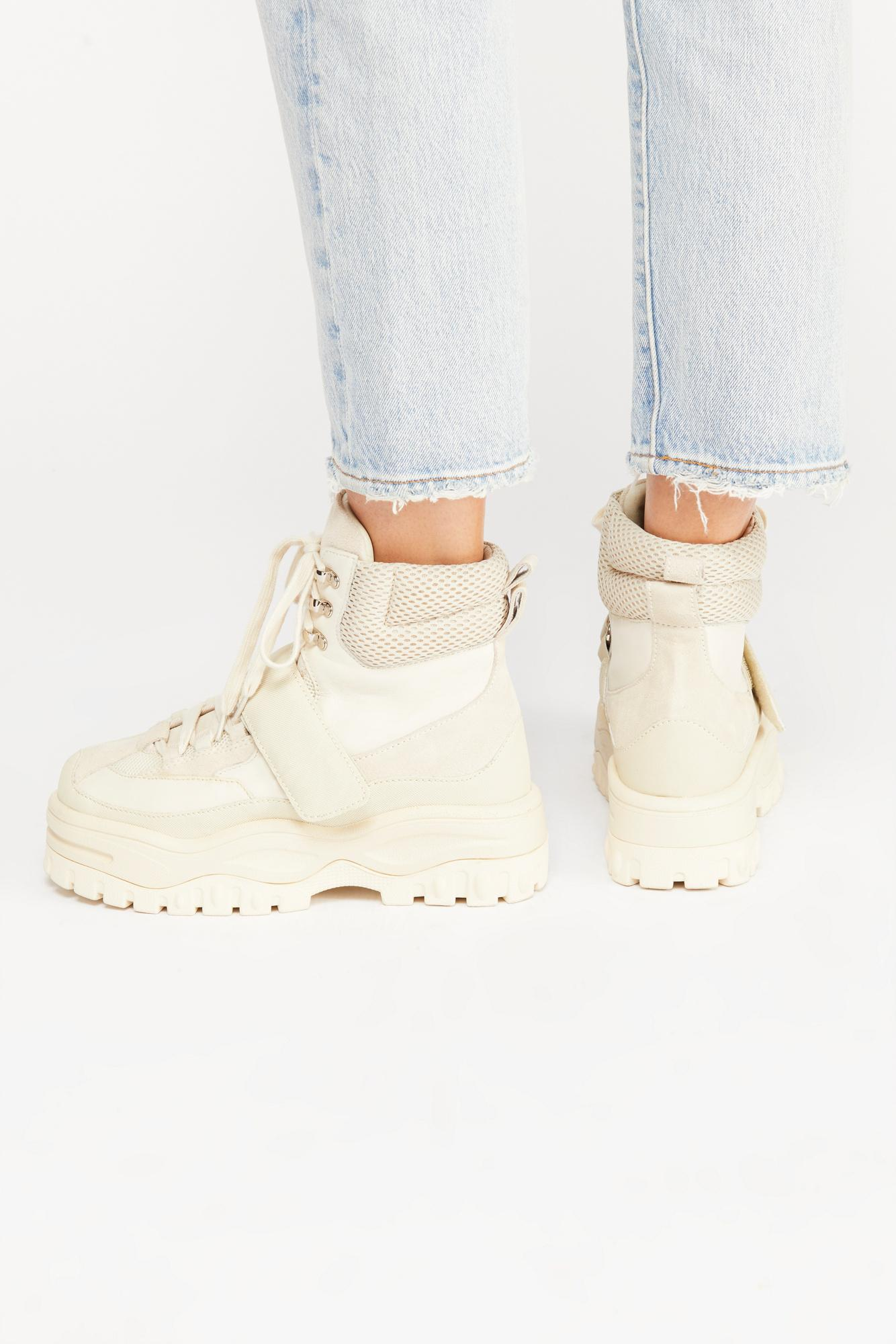 30d8ab7dd03d Lyst - Free People Sugar And Spice Hi Top Sneaker By Jeffrey ...