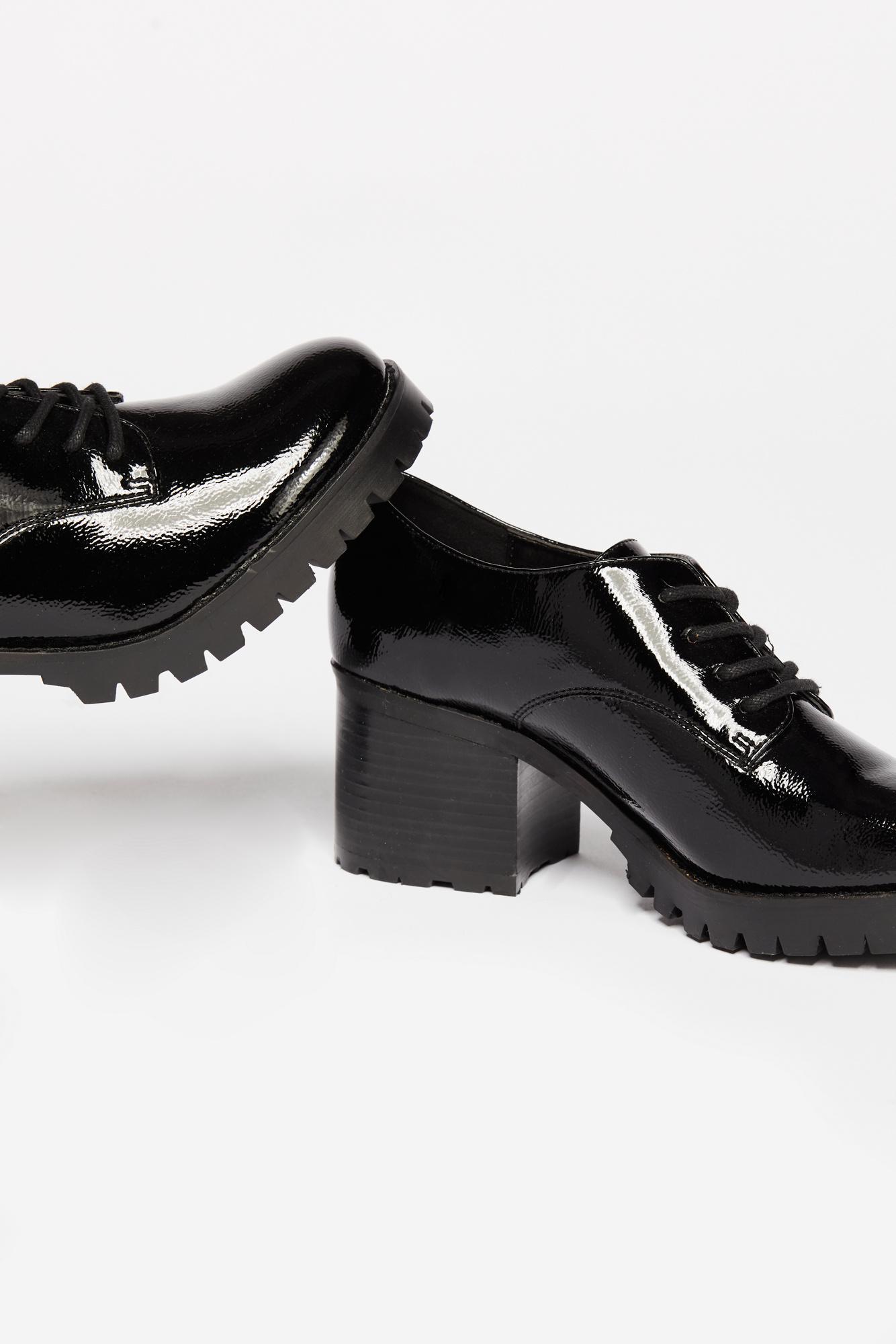 7b9e65fa884e Lyst - Free People Lennox Block Heel By Jane   The Shoe in Black