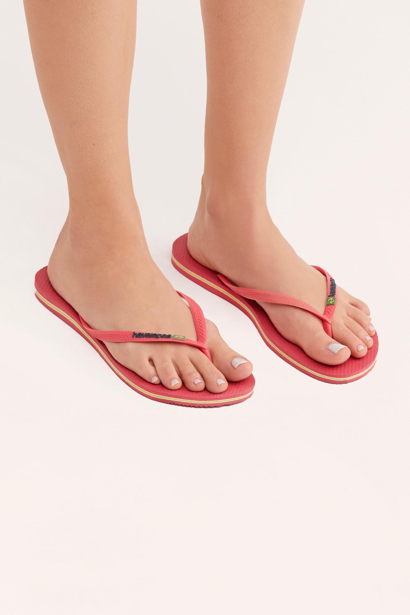 9518ff6b8b613 Free People - Multicolor Havaianas Slim Brazil Flip Flop Sandal - Lyst.  View fullscreen