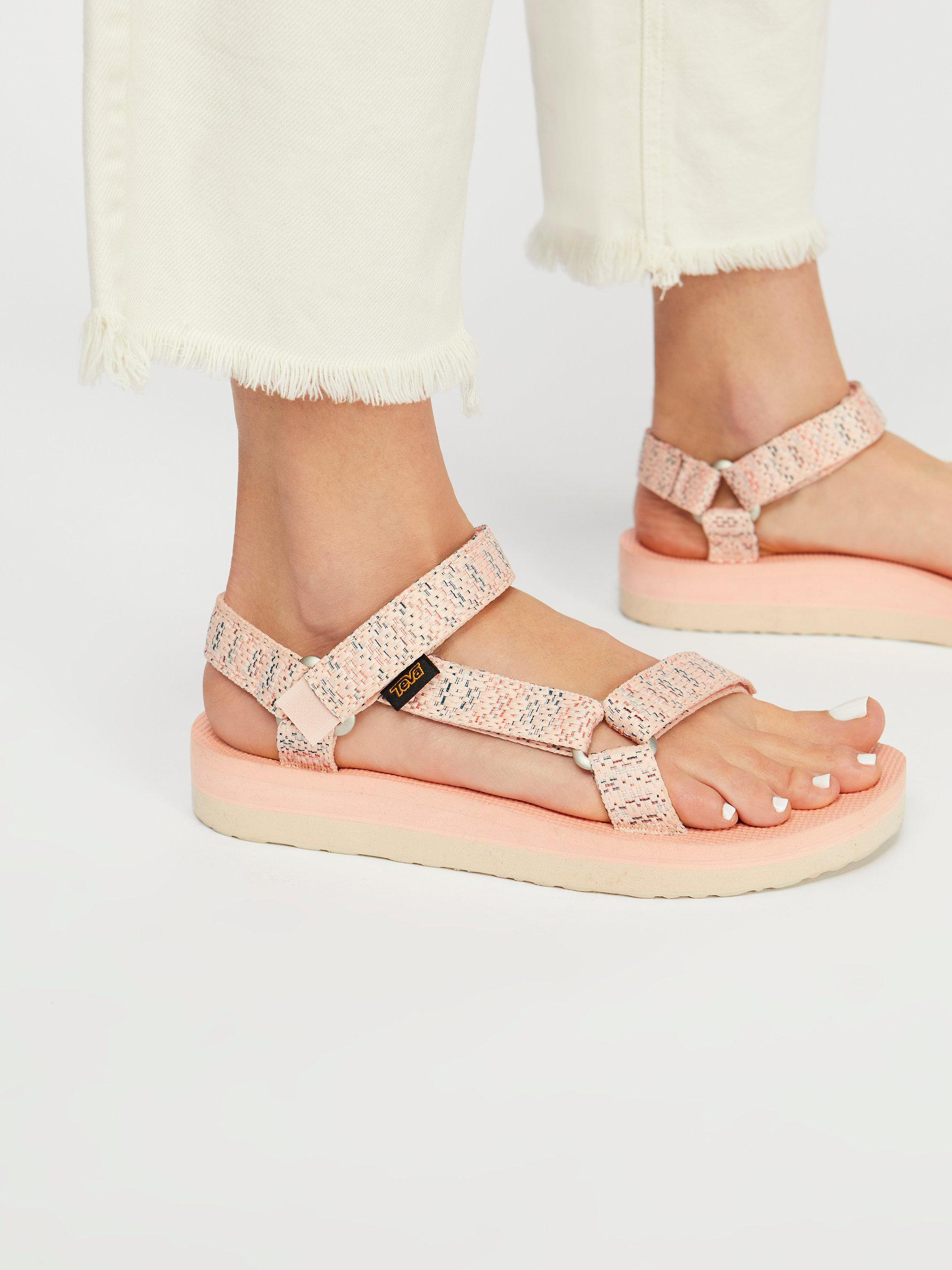 9ba7088eb46 Lyst - Free People Midform Universal Teva Sandal
