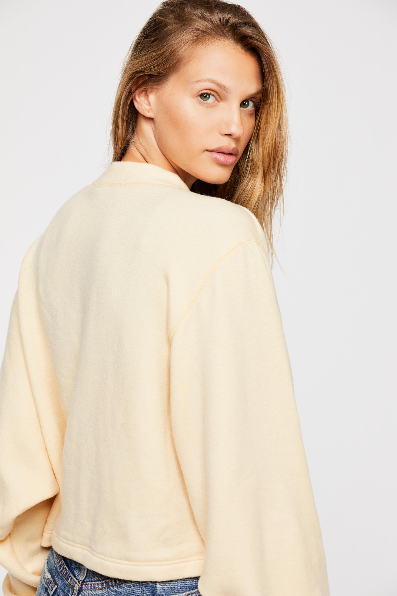e9b71e9c62d8 Lyst - Free People Uptown Pullover By Fp Beach in White