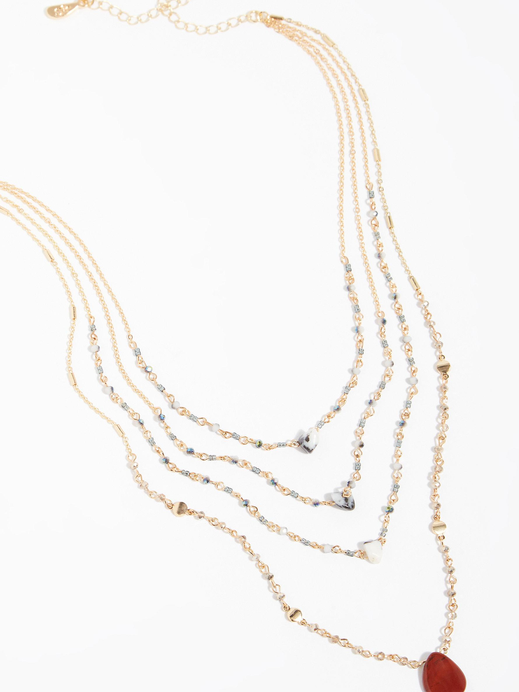 p lariat tiered solitaire diamond wishing in stella necklace silver dot