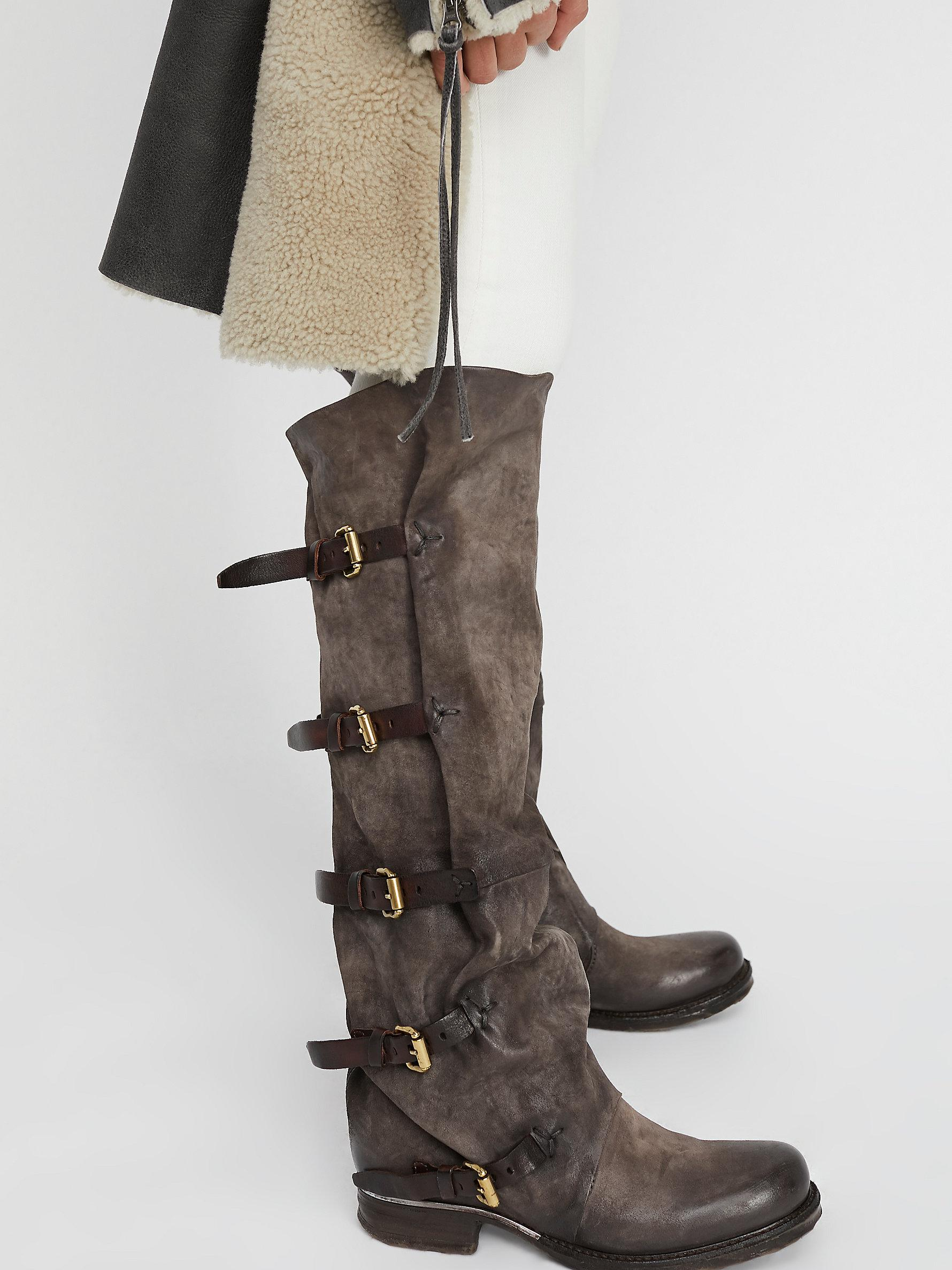 71a03296529 Lyst - Free People Tatum Over The Knee Boot