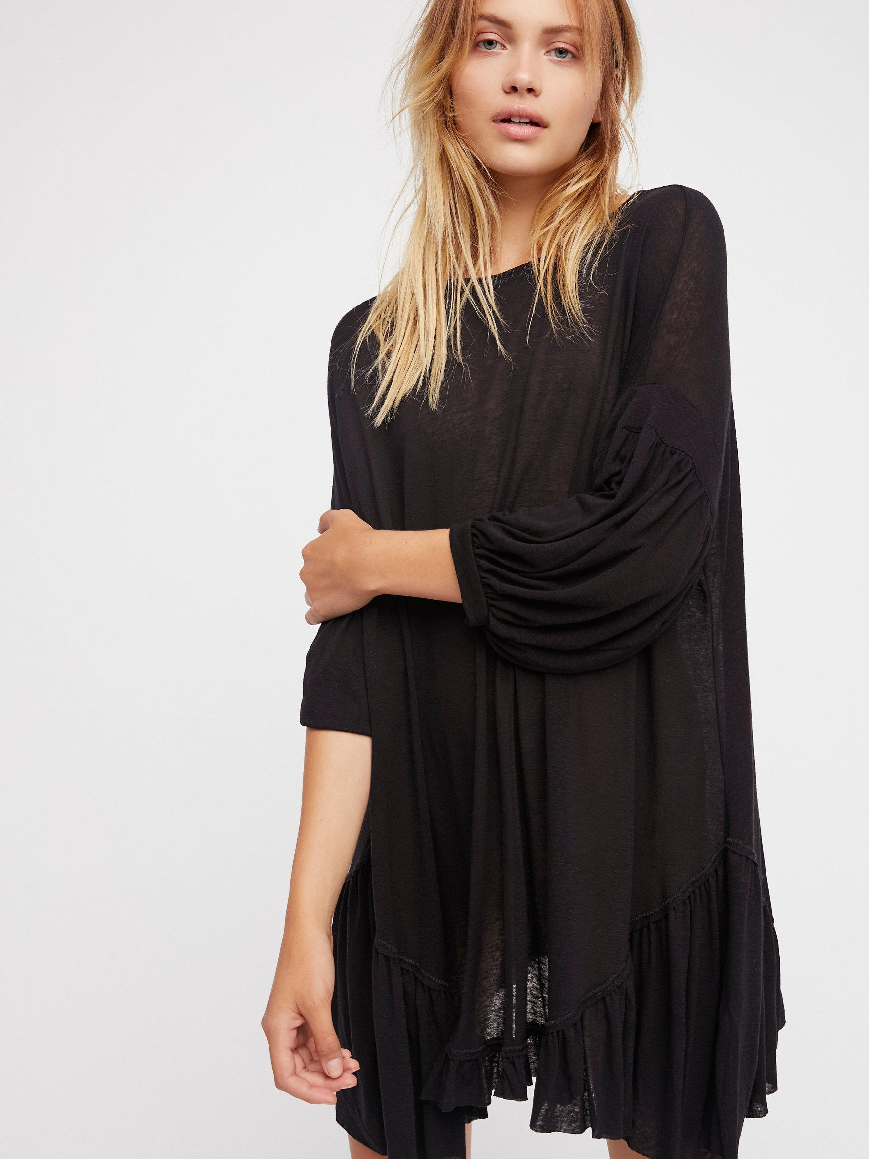c673a93b634 Free People Riverside Tunic By Fp Beach in Black - Lyst