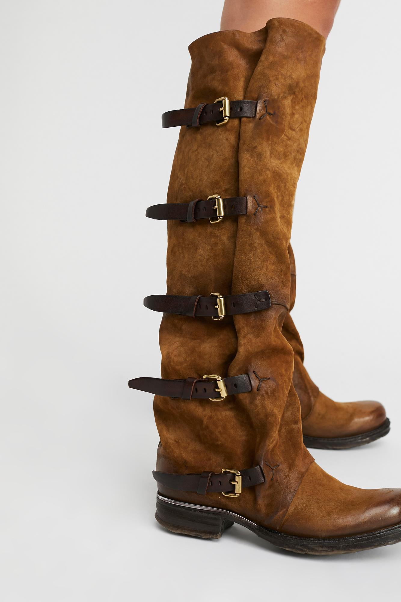 e35f93e1d4d Free People Tatum Over The Knee Boot By A.s. 98 - Lyst