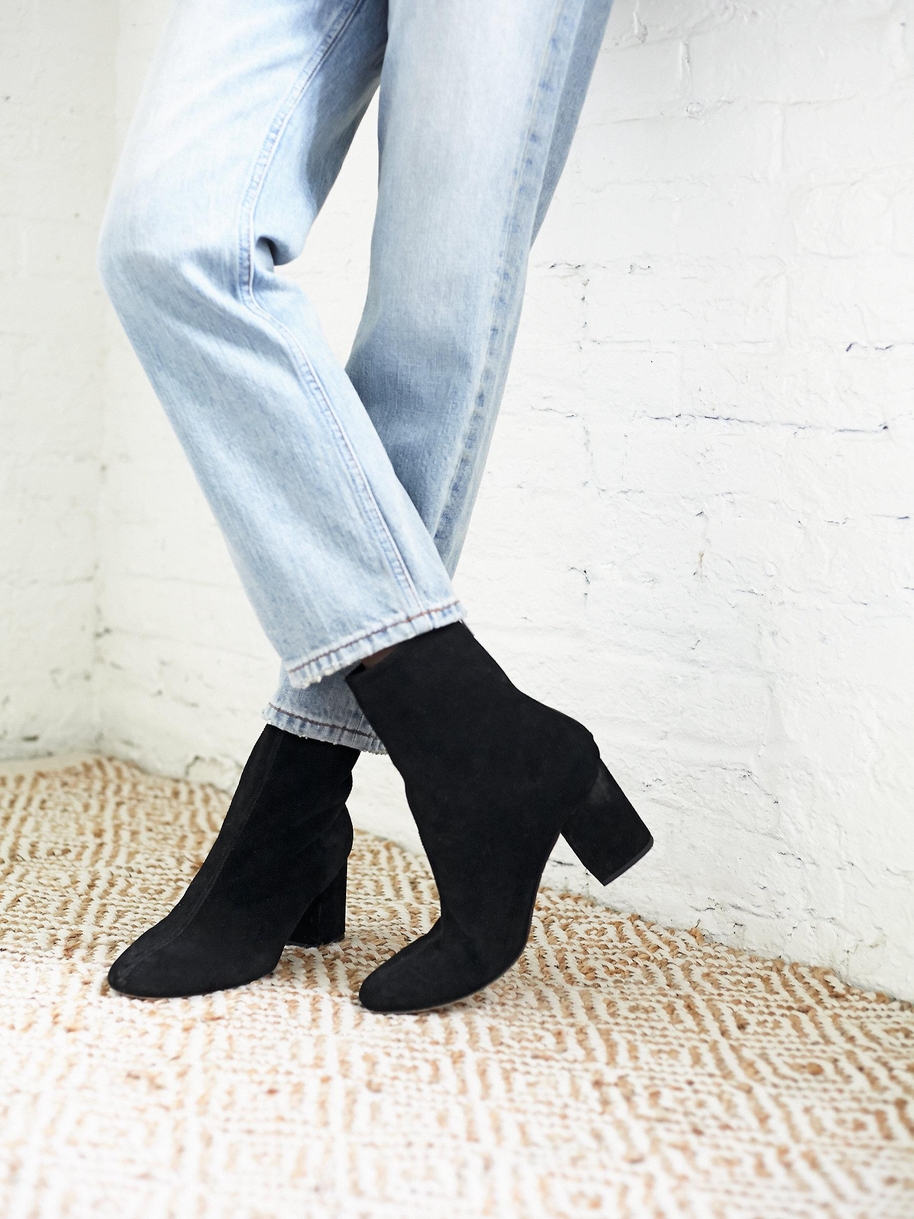Cecile Velvet Boot Free People NYs9BqcI