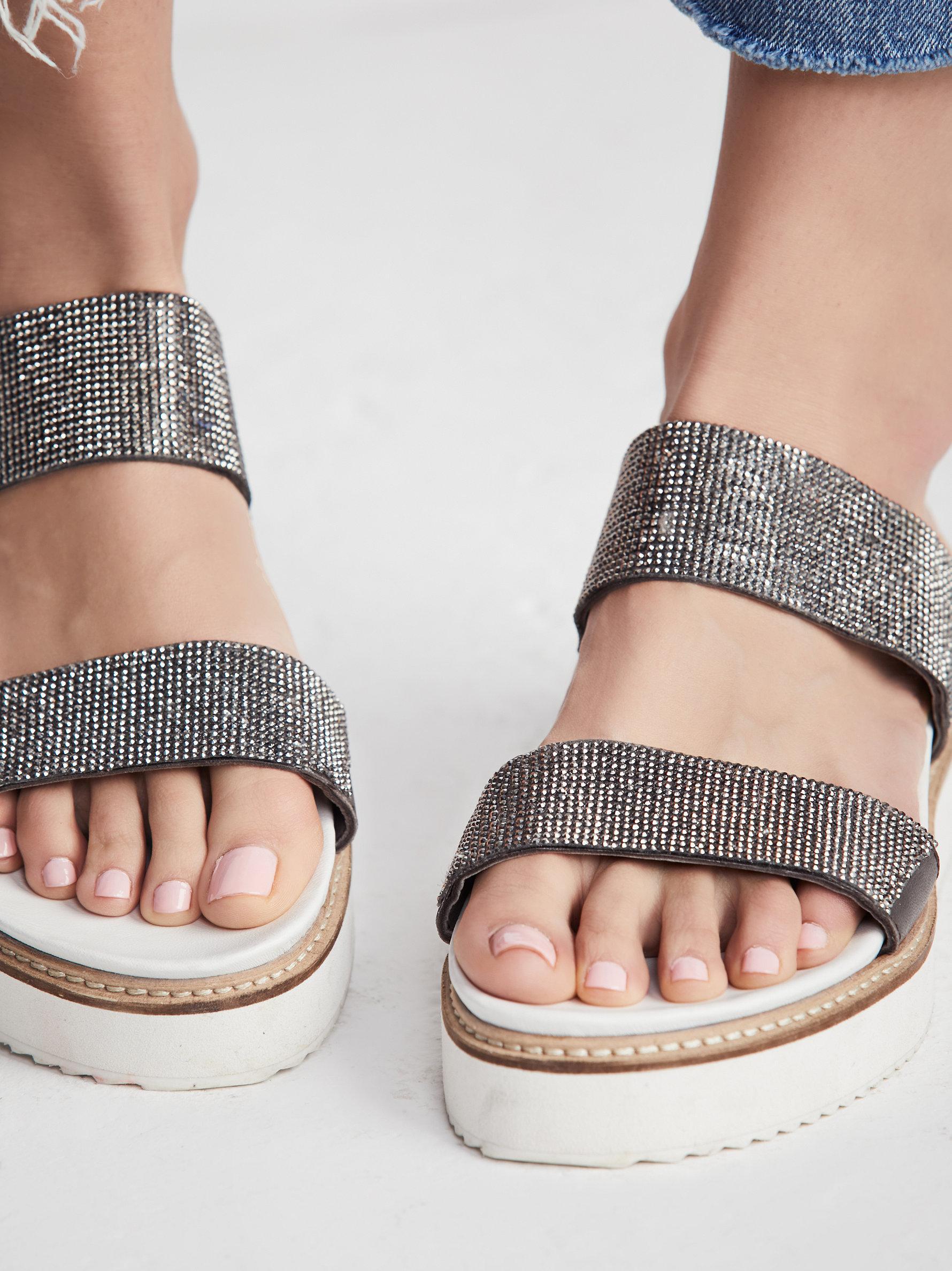 Free People Harper Gem Flatform Sandal p3L0PS