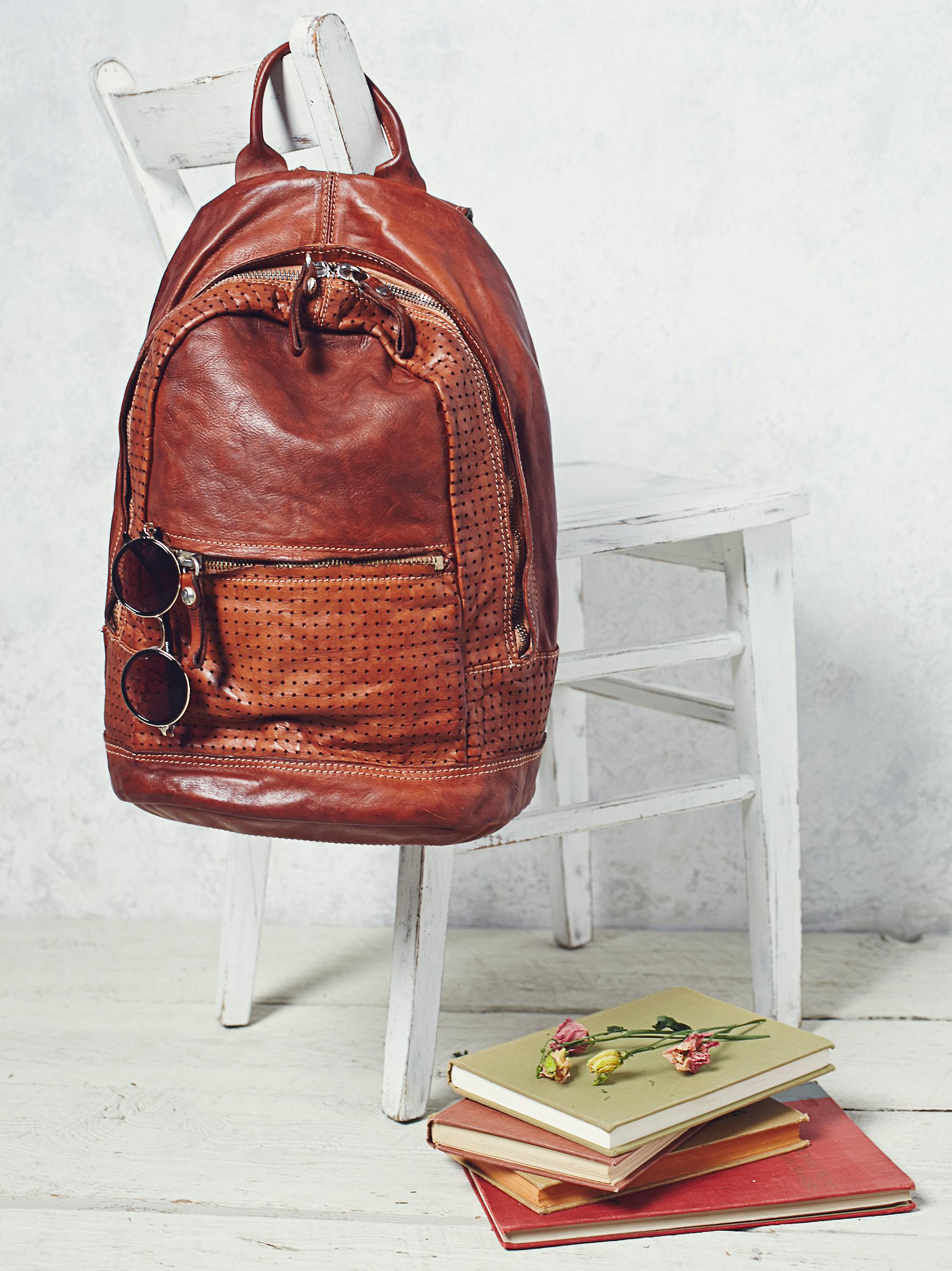 Lyst - Free People Linea Agave Backpack in Brown