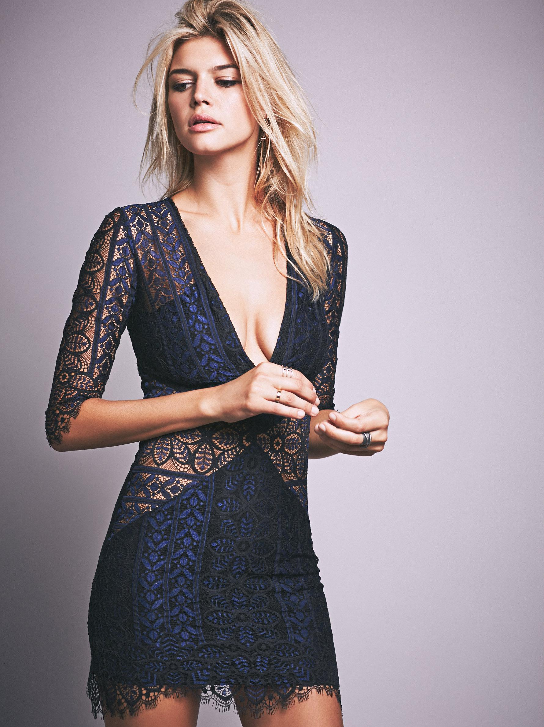 Lyst Free People Lyla Cocktail Dress In Blue
