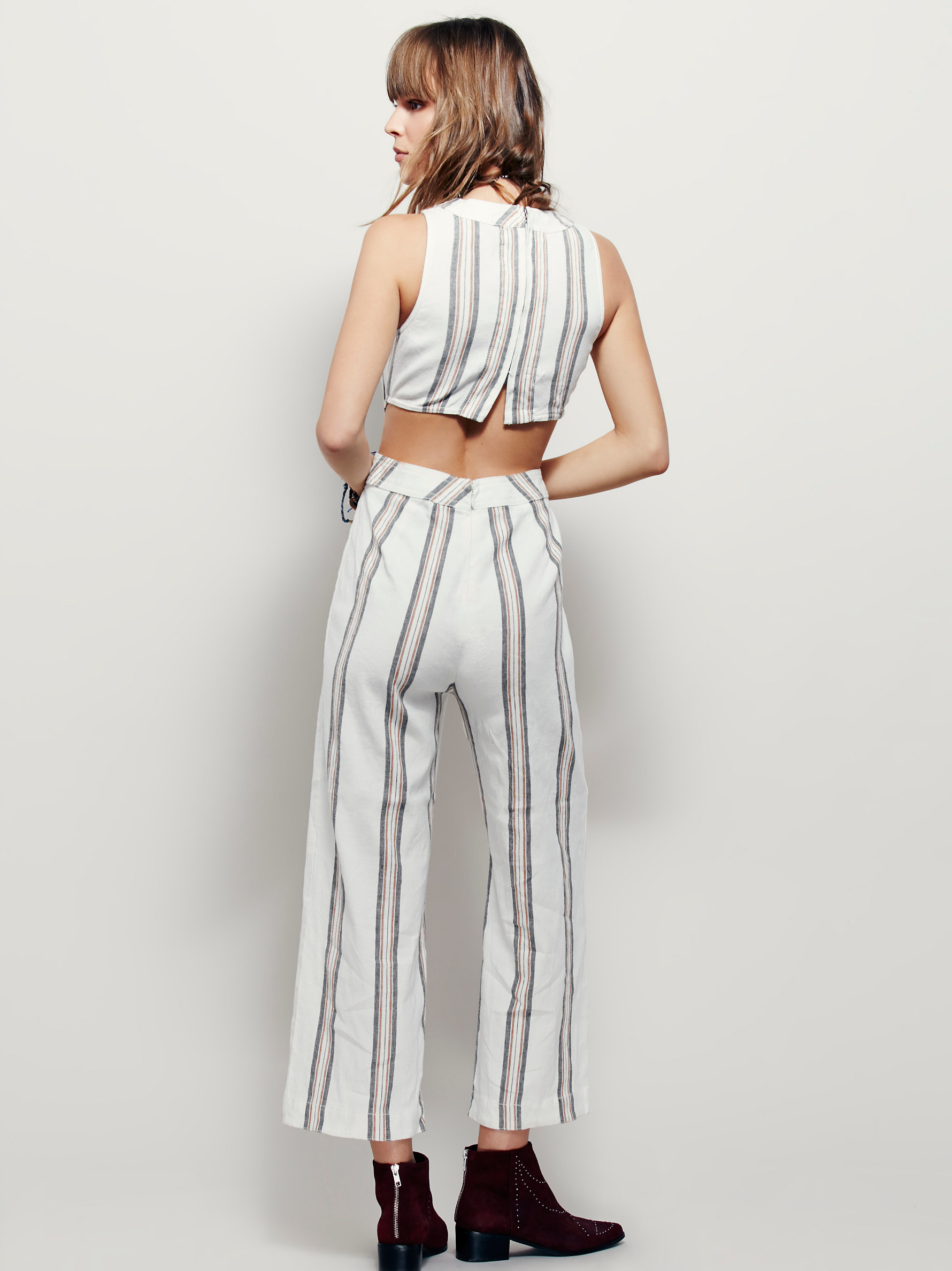 224a7d33be8a Lyst - Free People Moonlight Mile Jumper in White