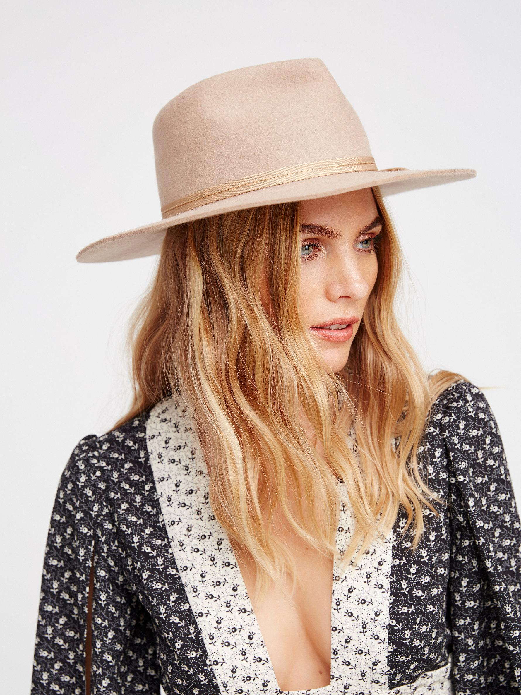 064387b7e2096 ... where to buy lyst free people morrison felt hat in natural a3c01 404a6