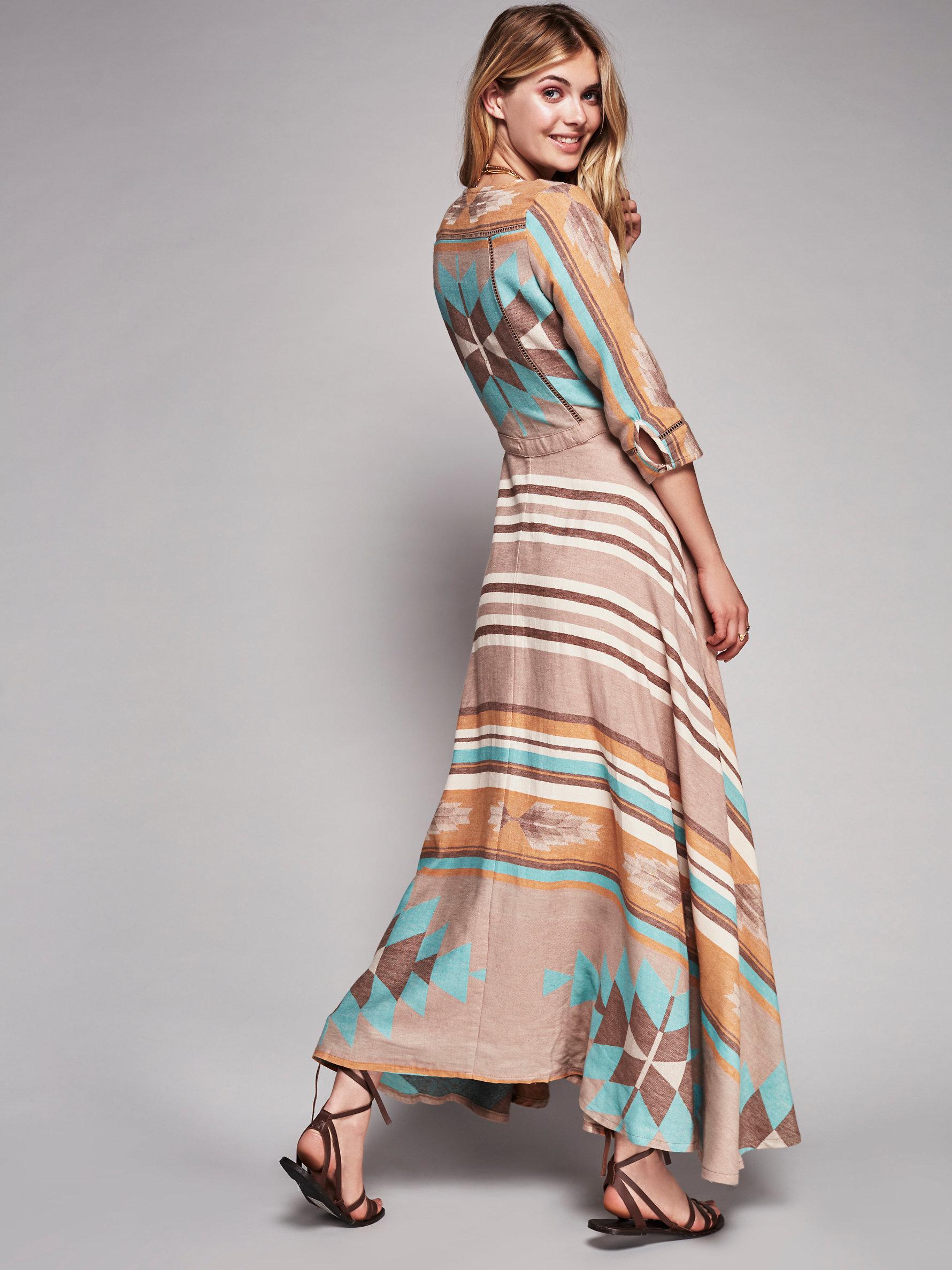 Lyst - Free People Peyote Gown