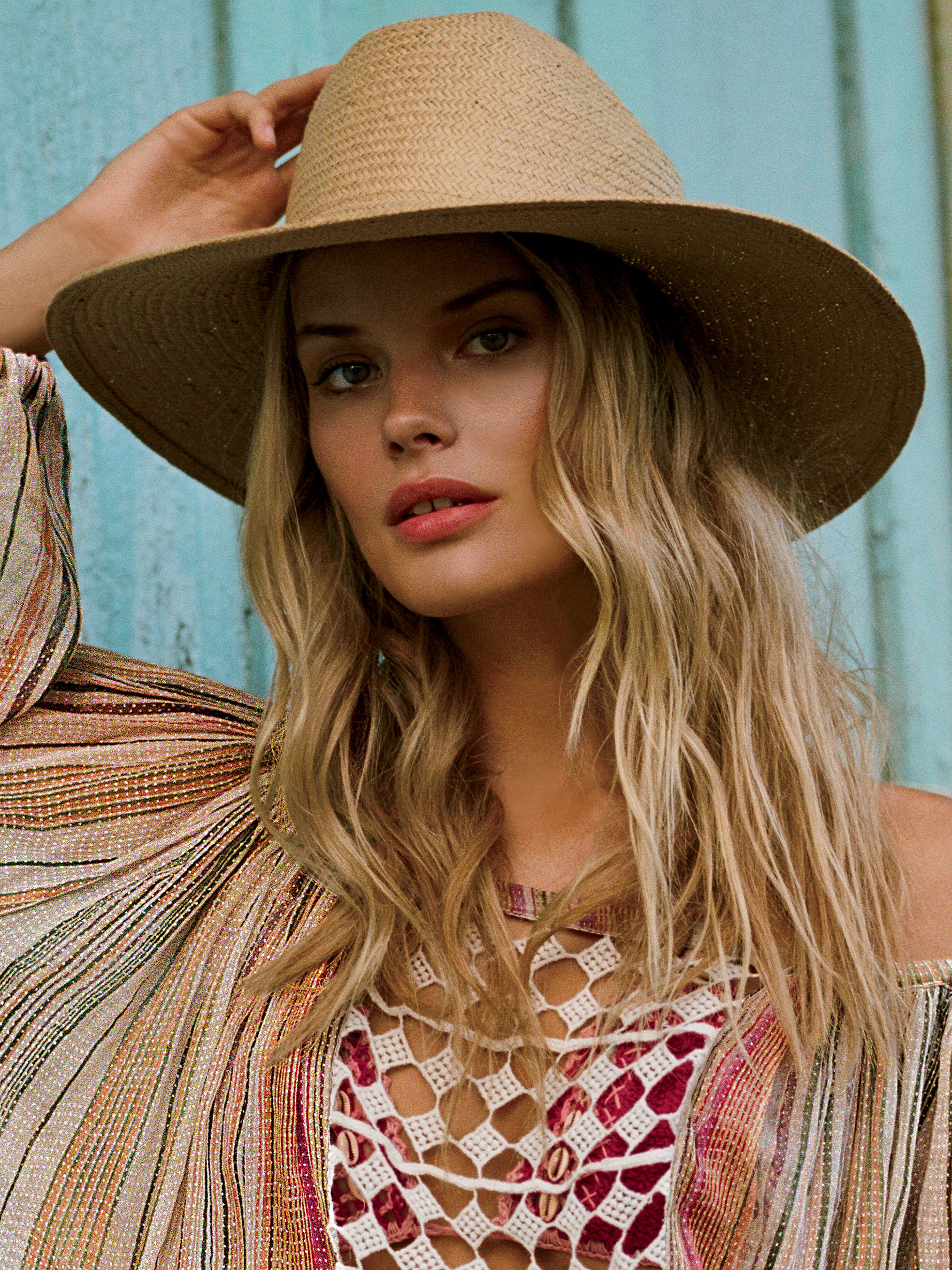 ce1ce234d70 Lyst - Free People Siesta Straw Sun Hat in Natural