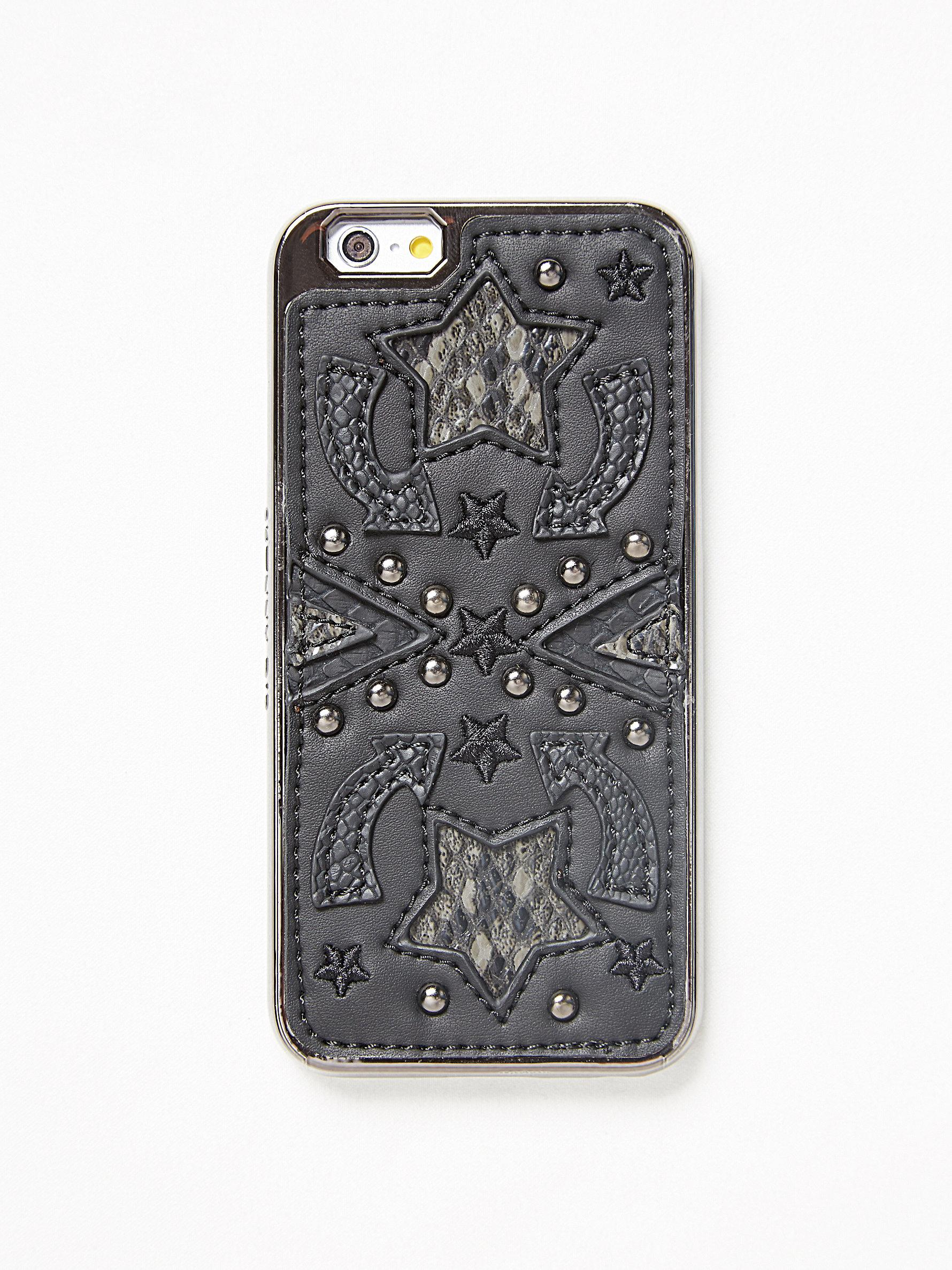 free people iphone case lyst free western iphone in black 5941