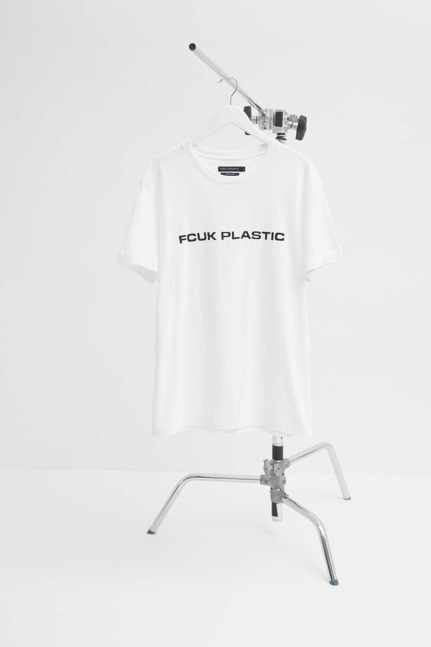 347501a15a7 French Connection Man Fcuk Plastic Charity T-shirt in White for Men ...