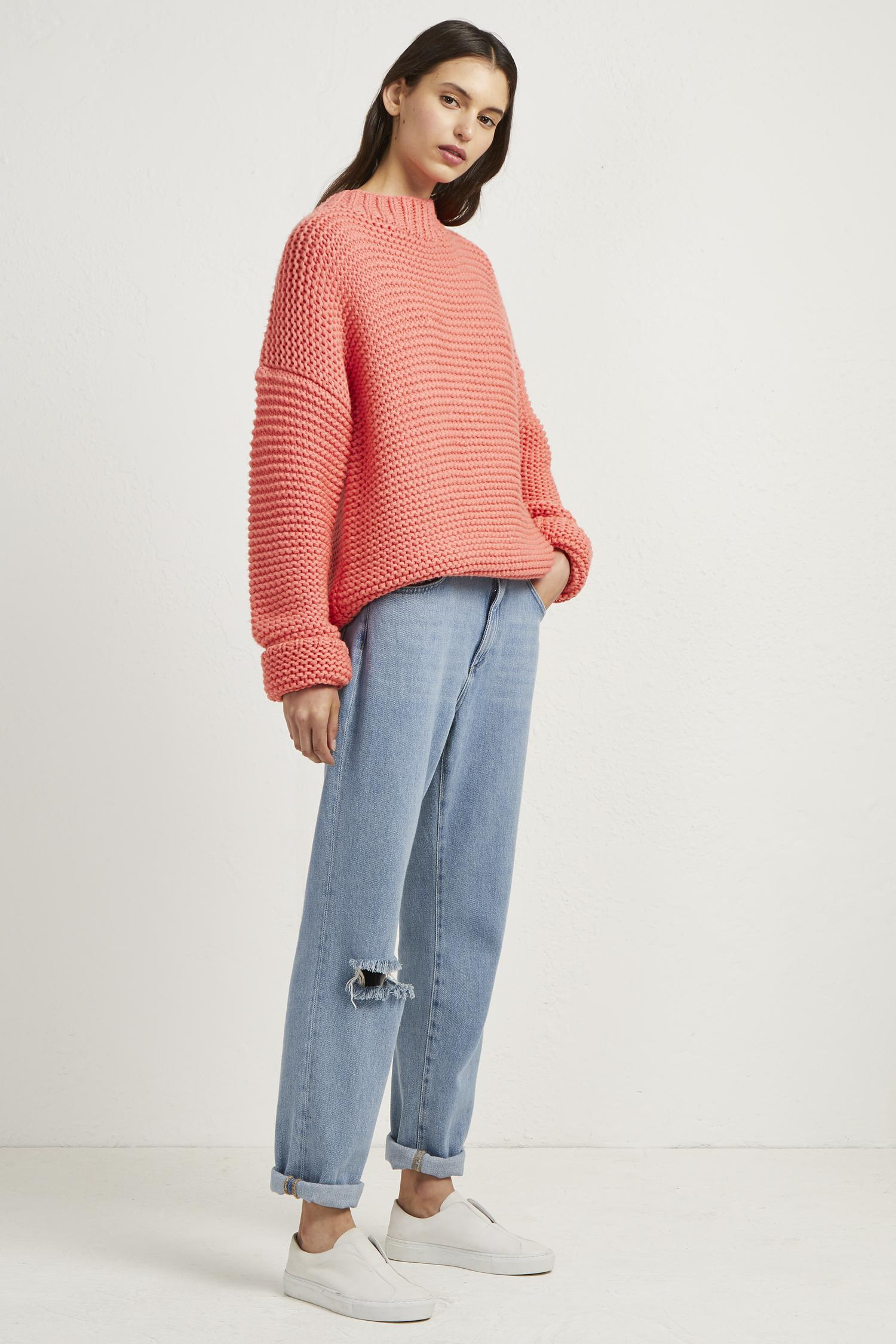 ea1d8b72e0d Lyst - French Connection Neve Links Knit Jumper