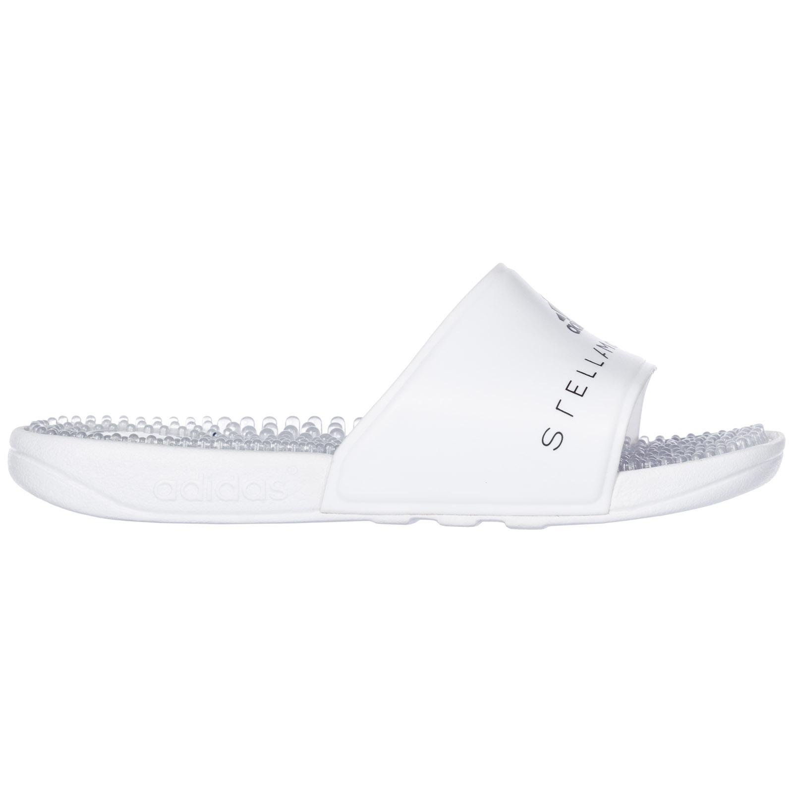 ea833ddd16c1 adidas By Stella McCartney. Women s White Rubber Slippers Sandals Adissage W