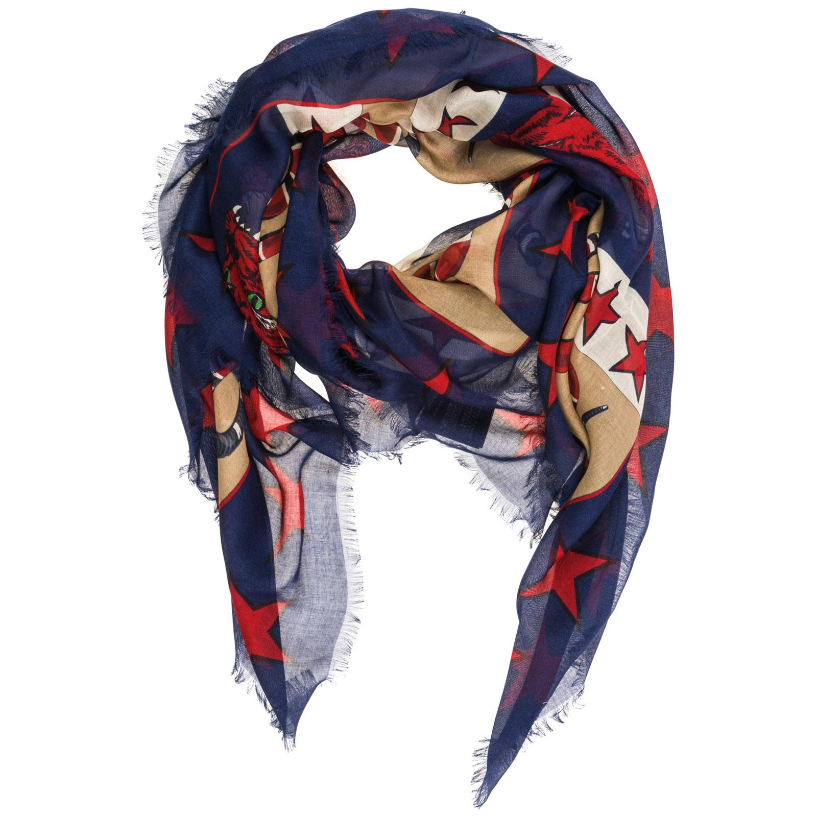 30bffb87d Lyst - Gucci Scarf in Blue for Men