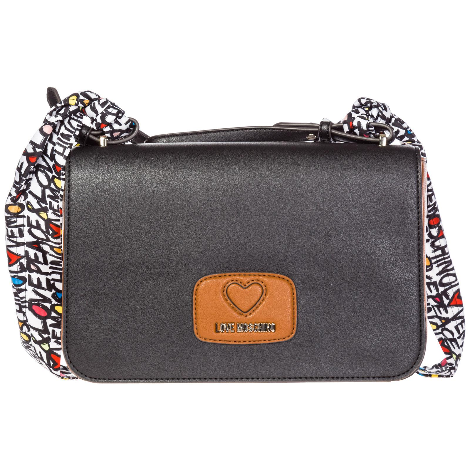 Love Moschino - Black Shoulder Bag - Lyst. View fullscreen 6937e2f685b