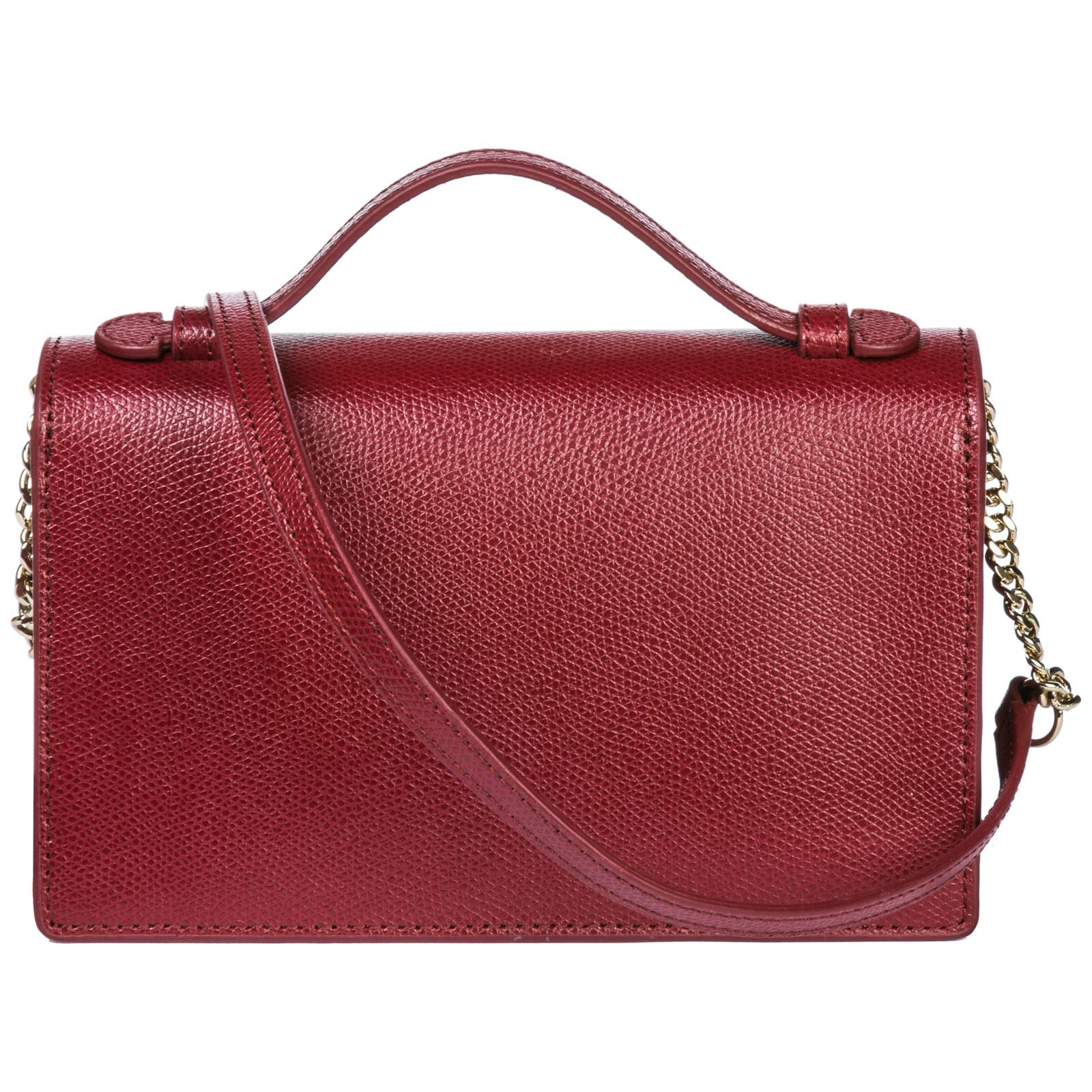 463ebe5aa51127 Lyst - Furla Leather Cross-body Messenger Shoulder Bag Incanto in Red