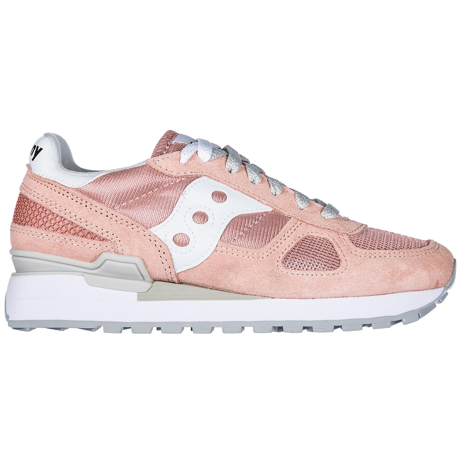 Saucony Shoes Suede Trainers Sneakers Shadow Original in Pink - Lyst a28551dfb36
