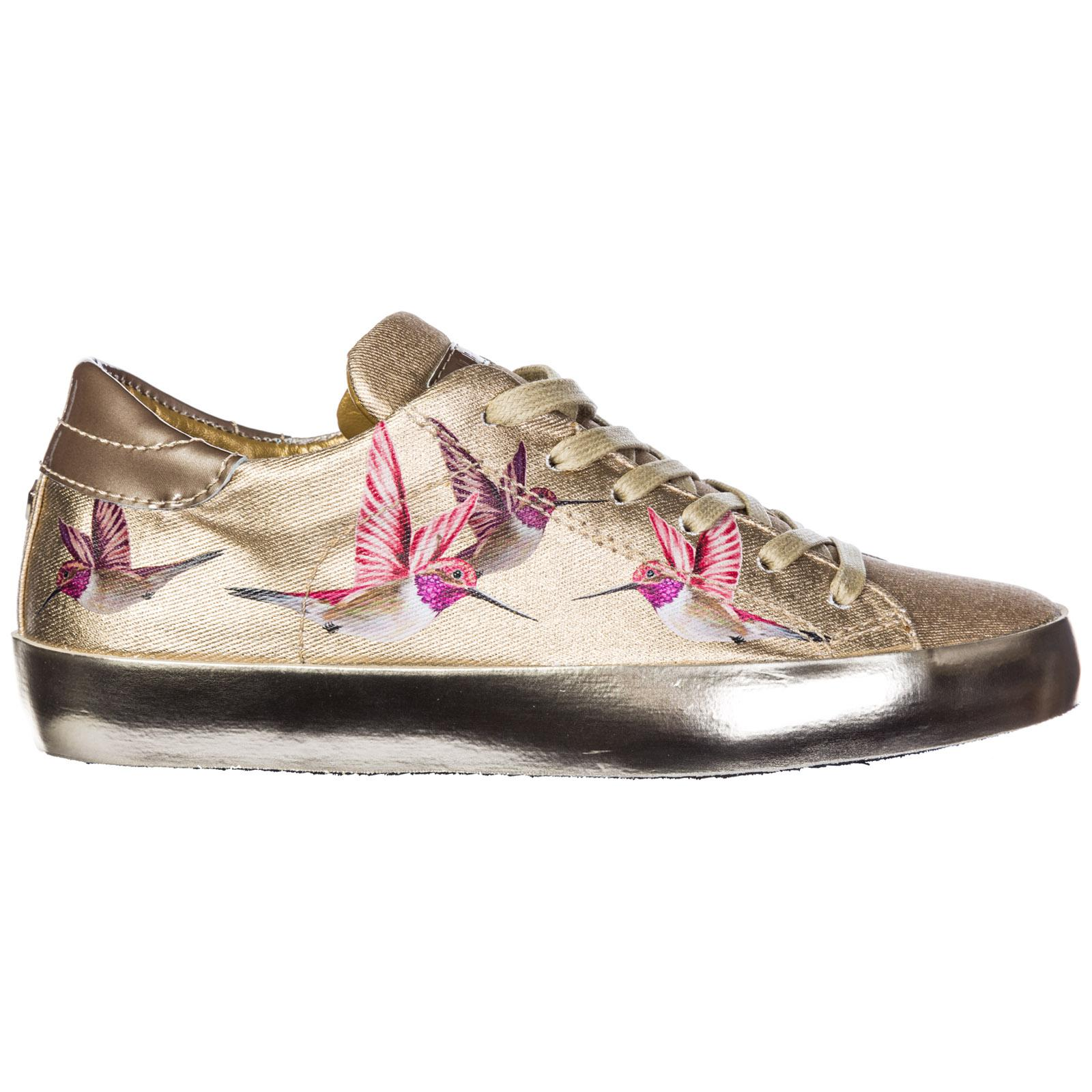 26a71e4c7d9b5 Lyst - Philippe Model Shoes Trainers Sneakers Paris Bird in Pink