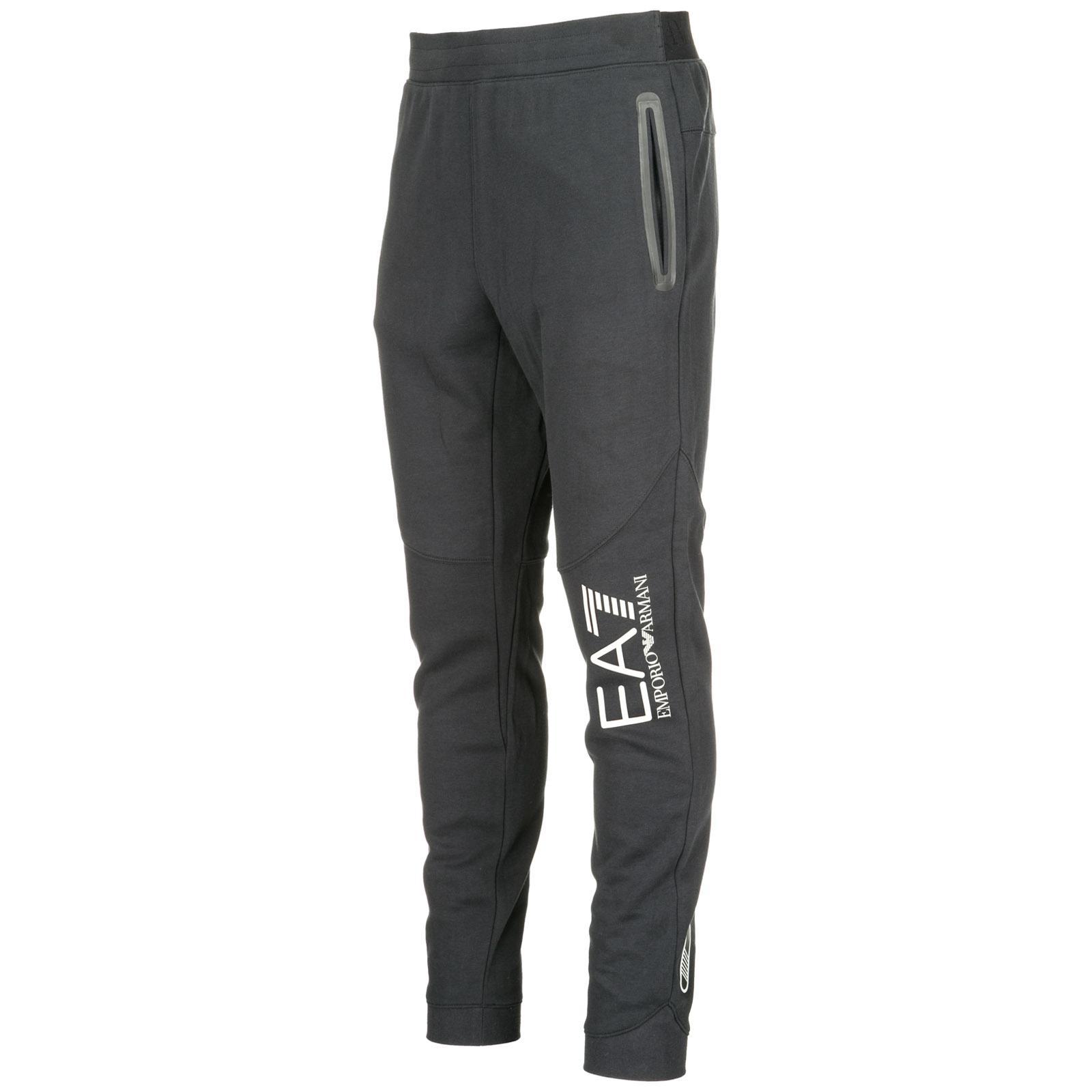 Lyst - Ea7 Pantaloni Tuta Uomo in Black for Men 78e76a304462