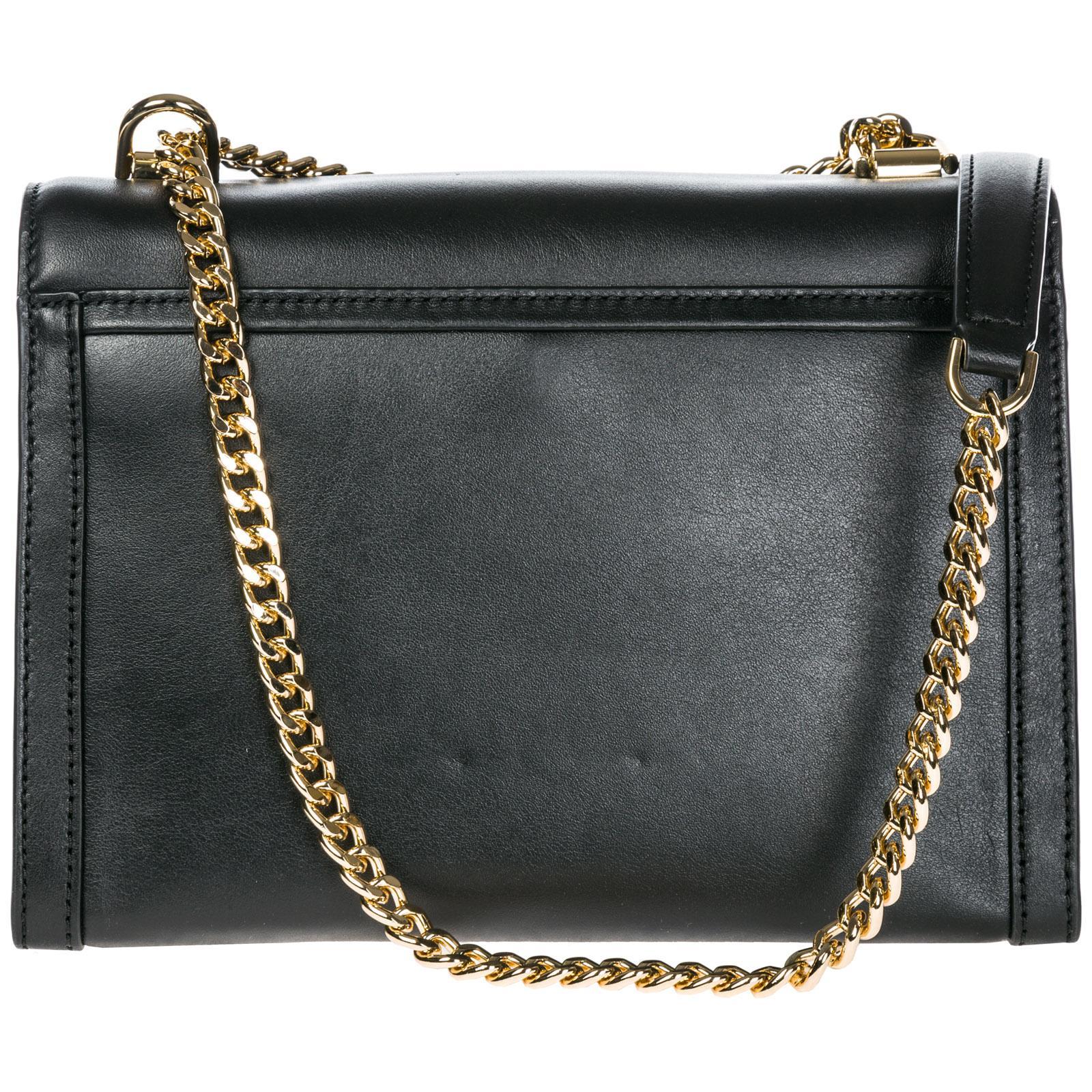 8a6f49989bb4 Michael Kors - Black Leather Shoulder Bag Whitney - Lyst. View fullscreen